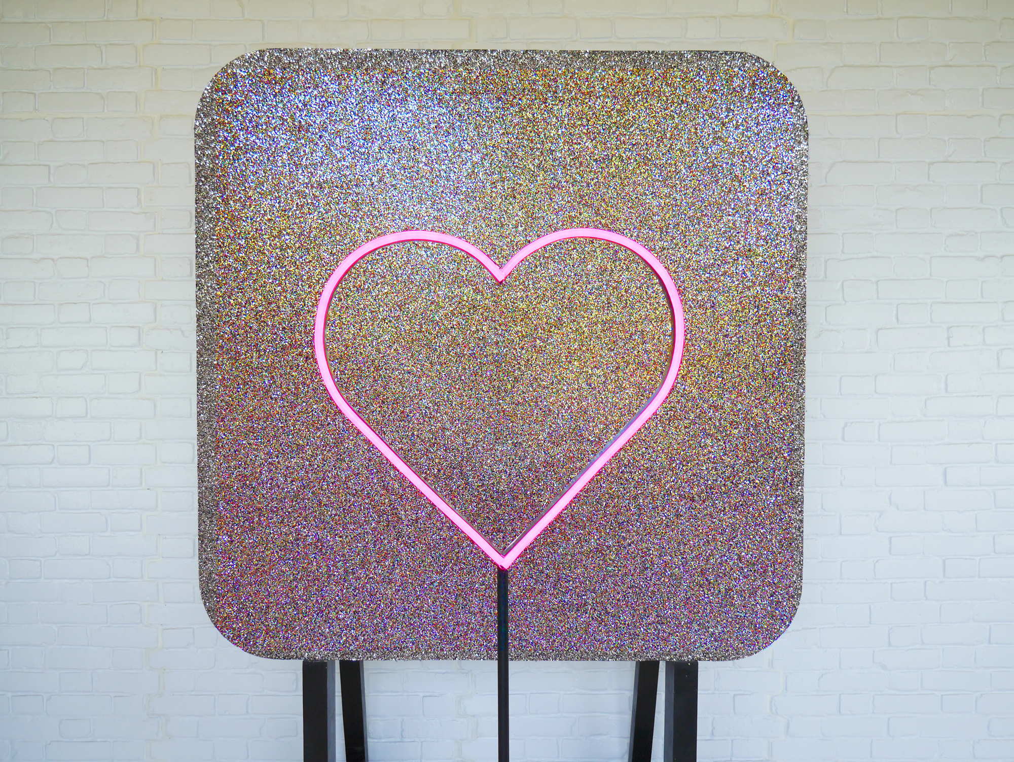 Neon Heart with Glitter Wall Vowed and Amazed.jpg
