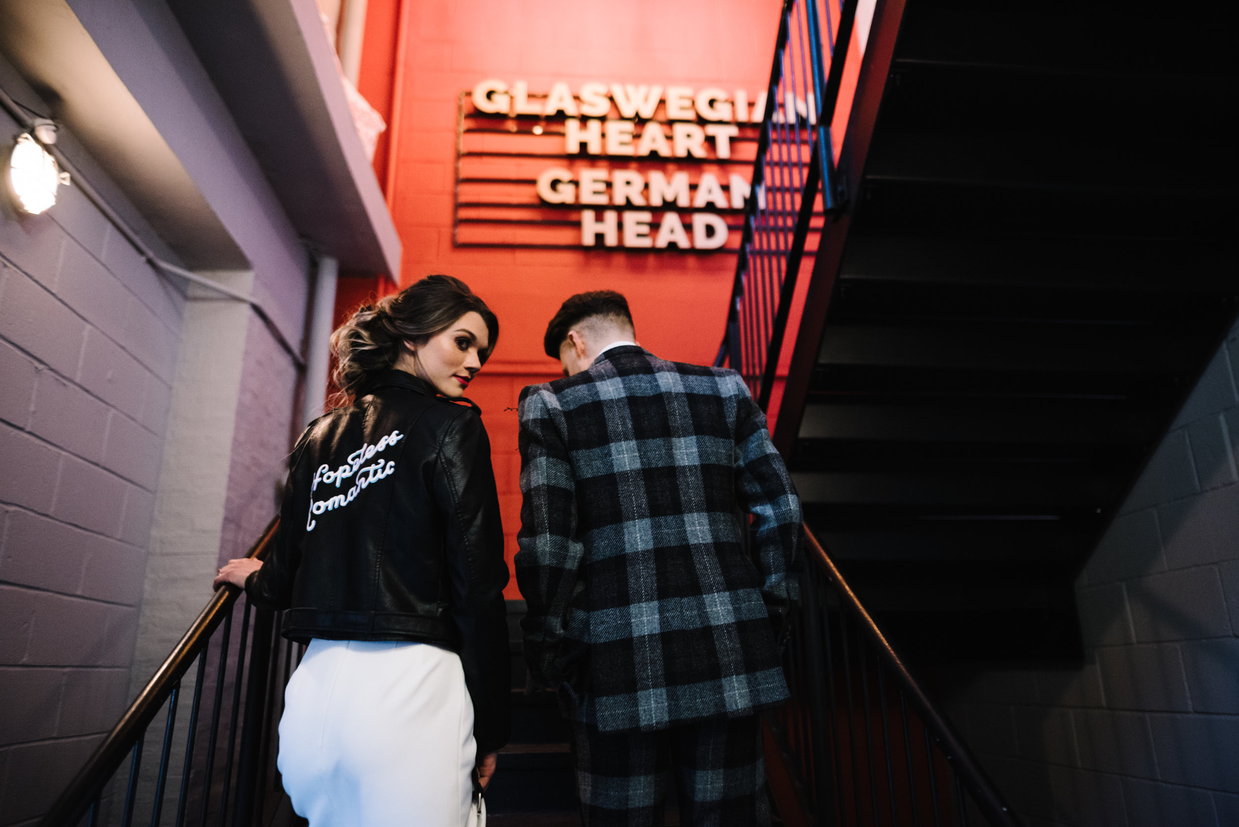 Modern Wedding Inspiration Shoot in Glasgow Brewery With a Frill Installation, Candy Floss and Neon 00050.jpg