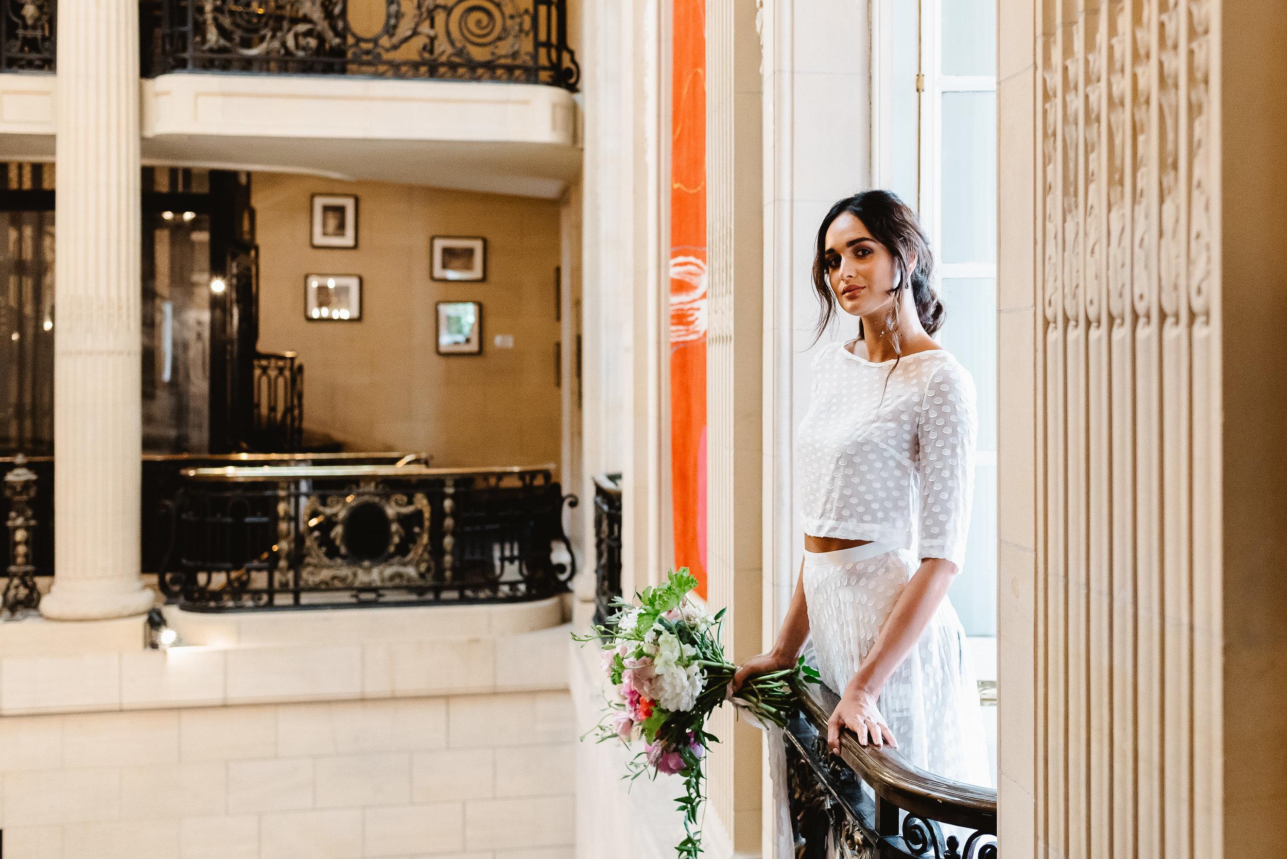 Revelry Events Carlton House London Bride Cool Wedding 00011.jpg