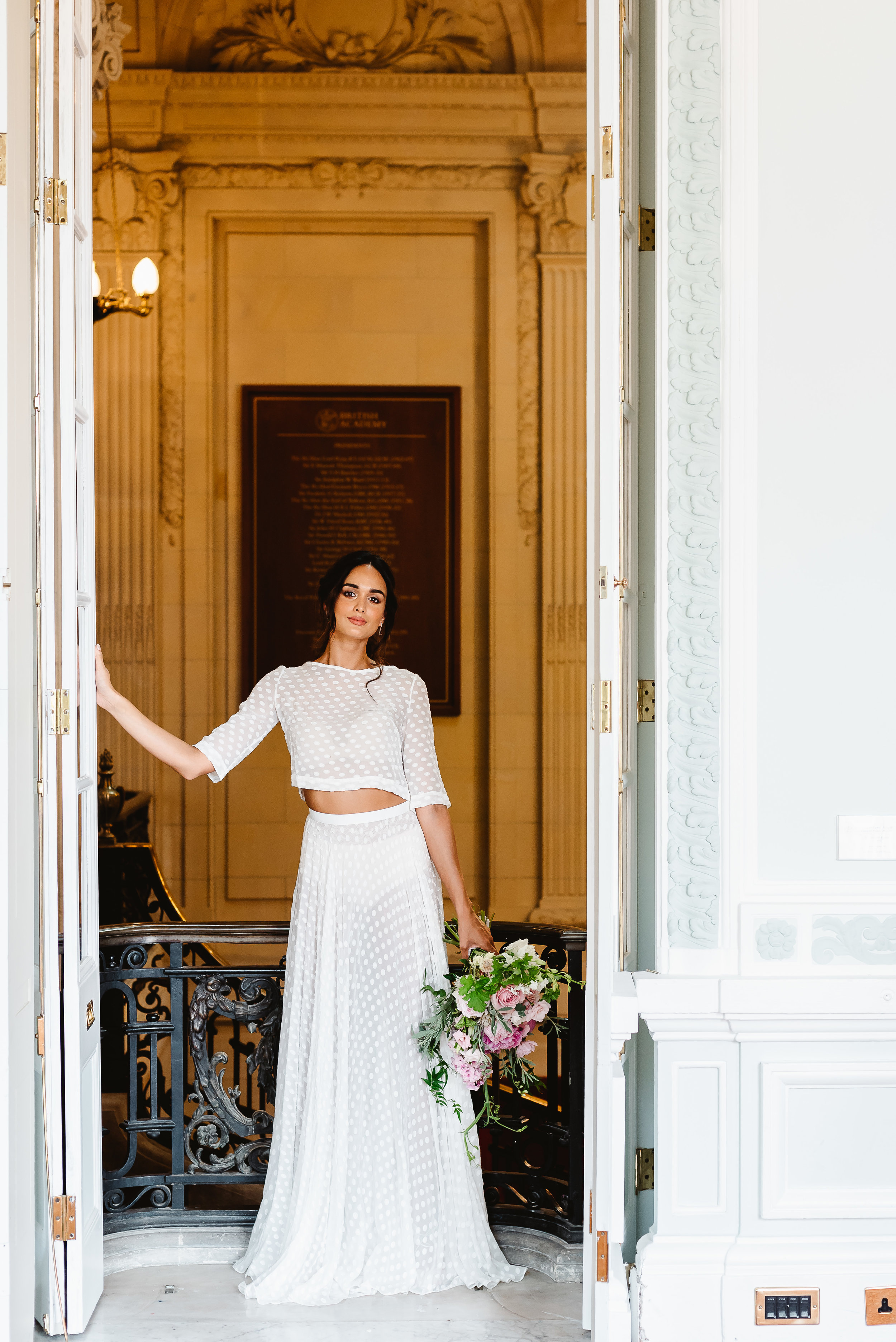 Revelry Events Carlton House London Bride Cool Wedding 00012.jpg