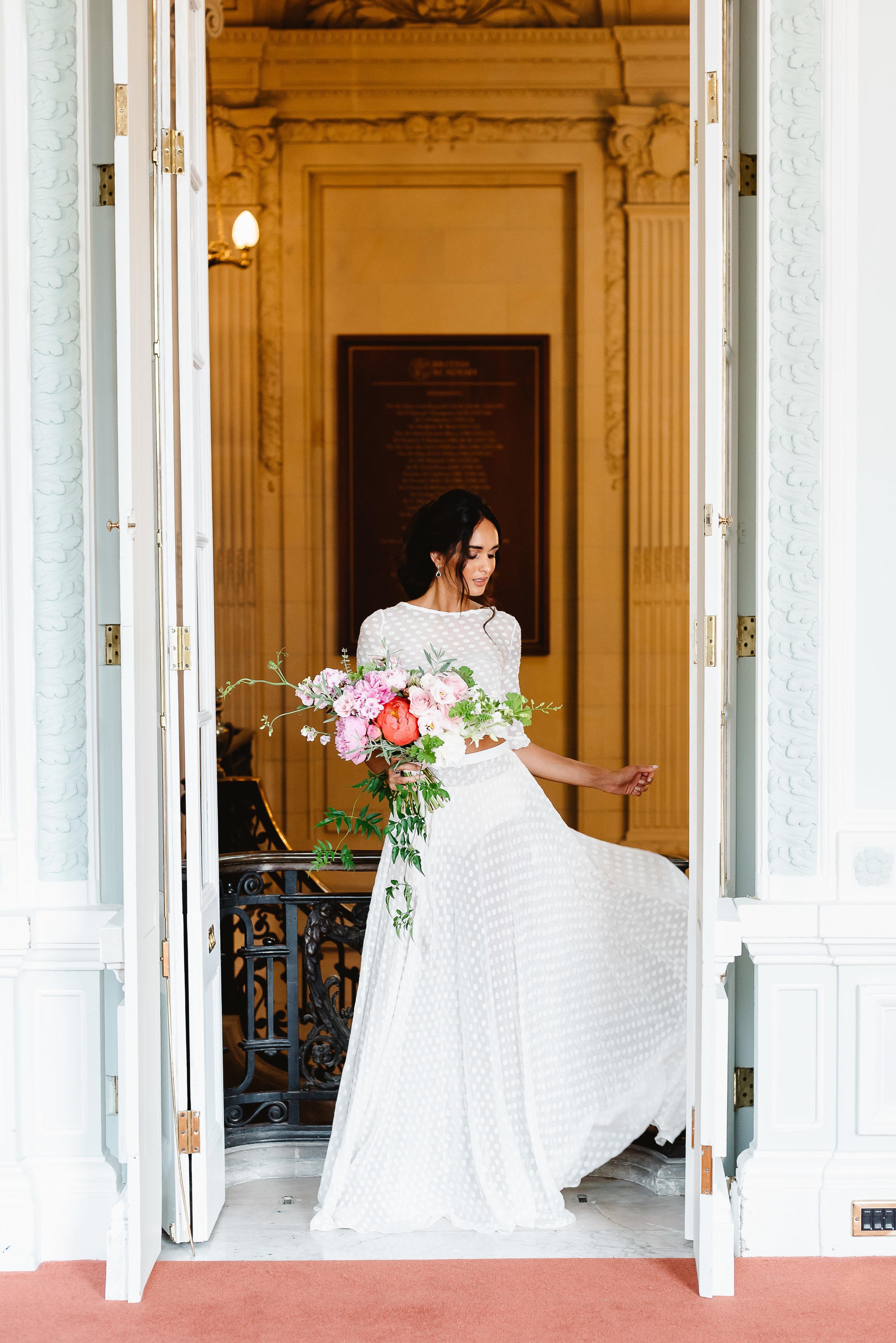 Revelry Events Carlton House London Bride Cool Wedding 00013.jpg