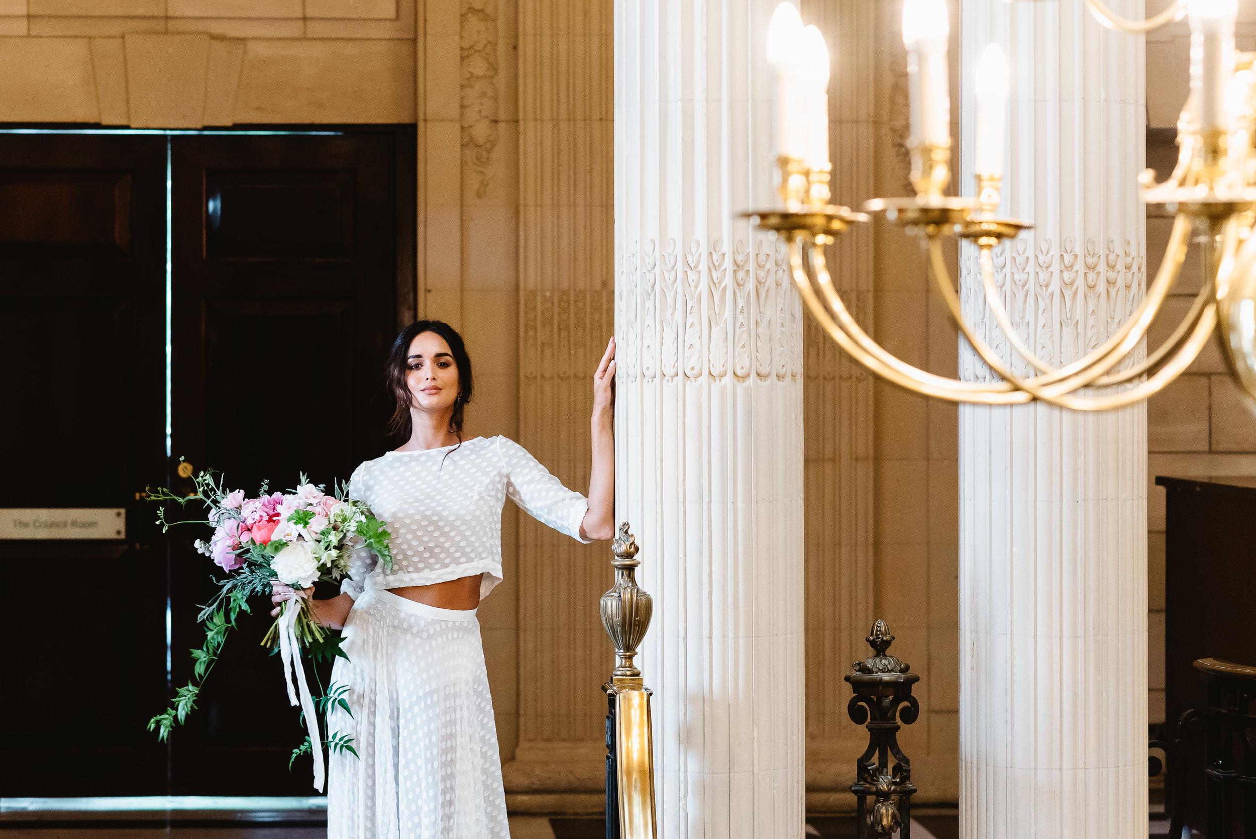 Revelry Events Carlton House London Bride Cool Wedding 00017.jpg