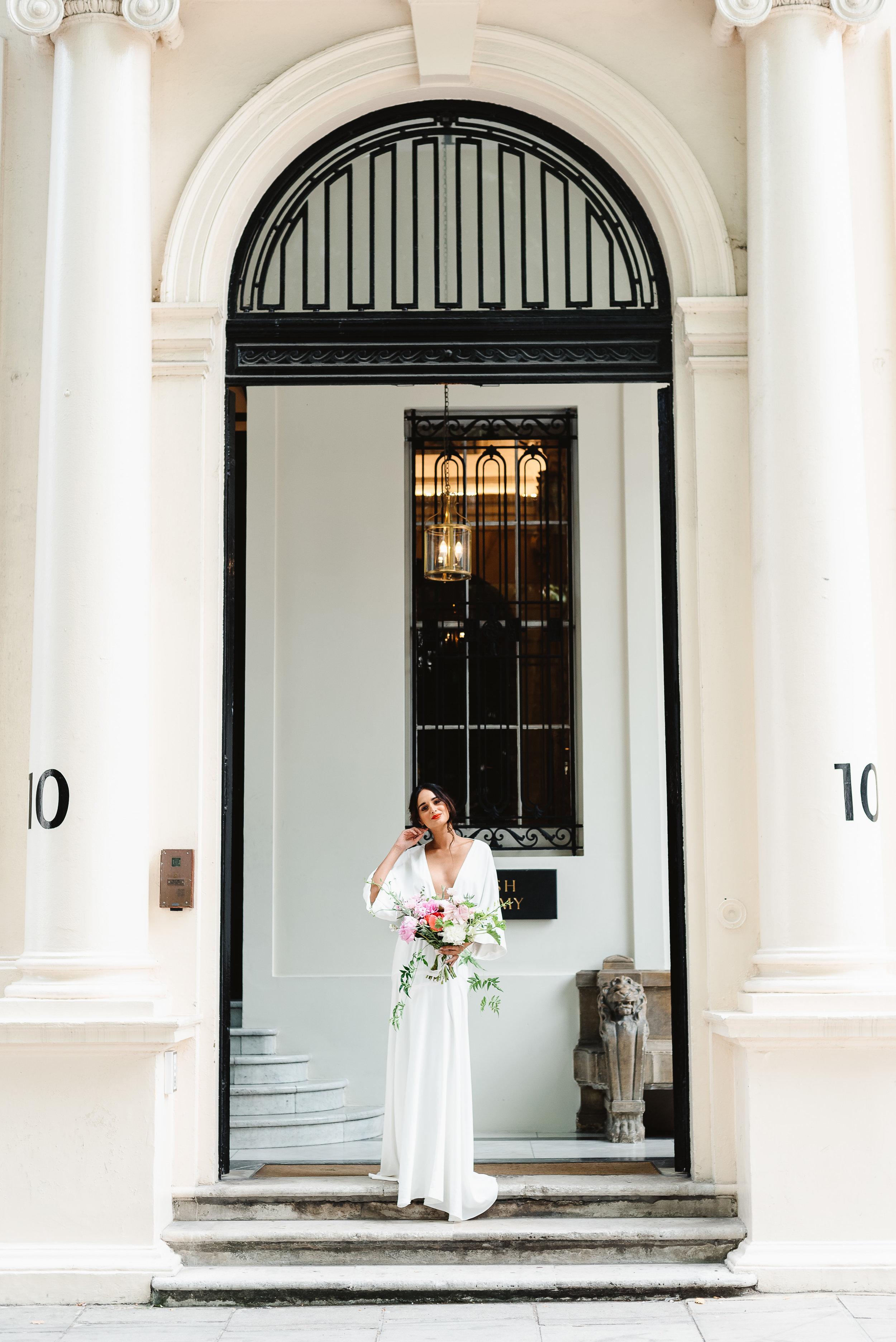 Revelry Events Carlton House London Bride Cool Wedding 00020.jpg