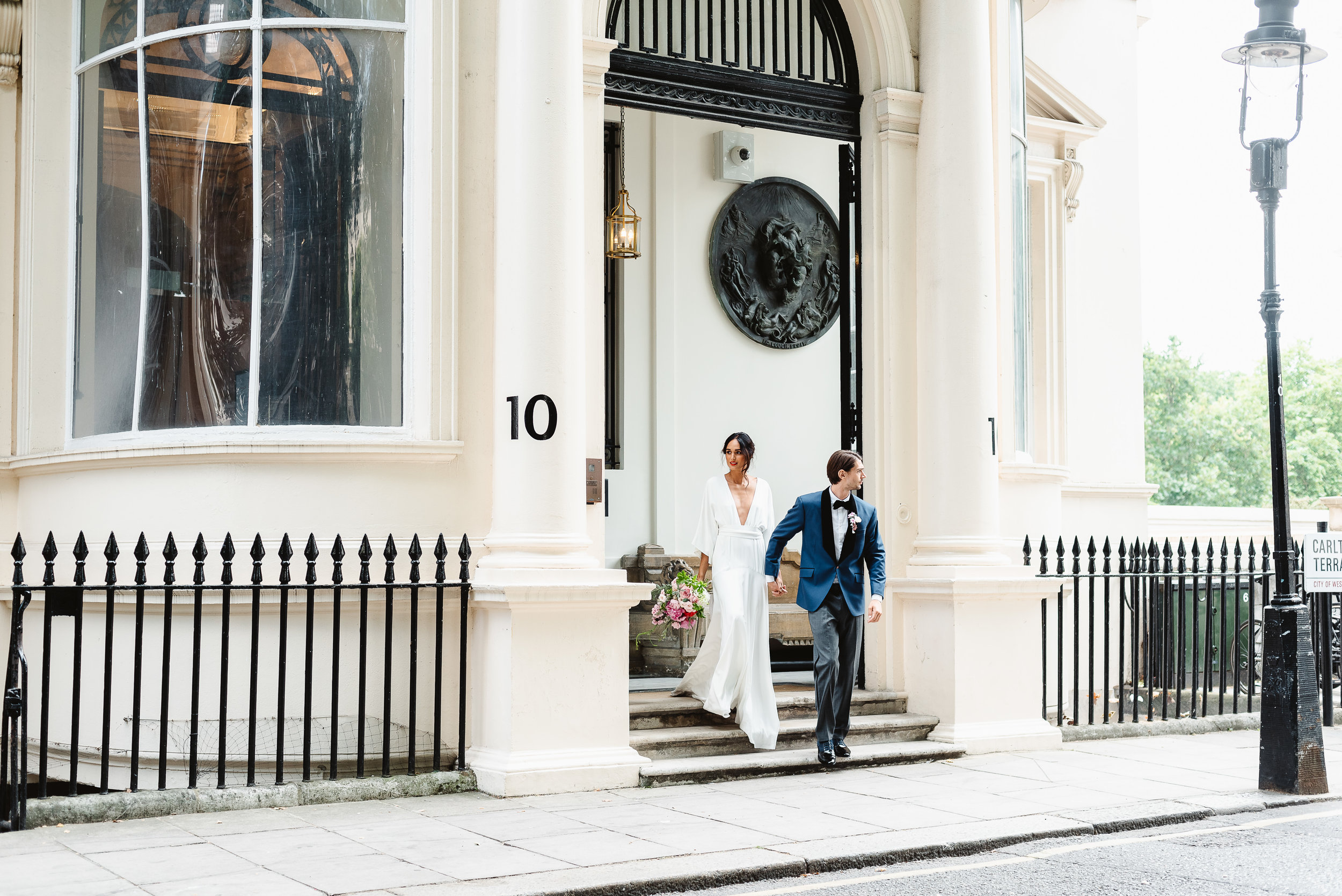 Revelry Events Carlton House London Bride Cool Wedding 00022.jpg