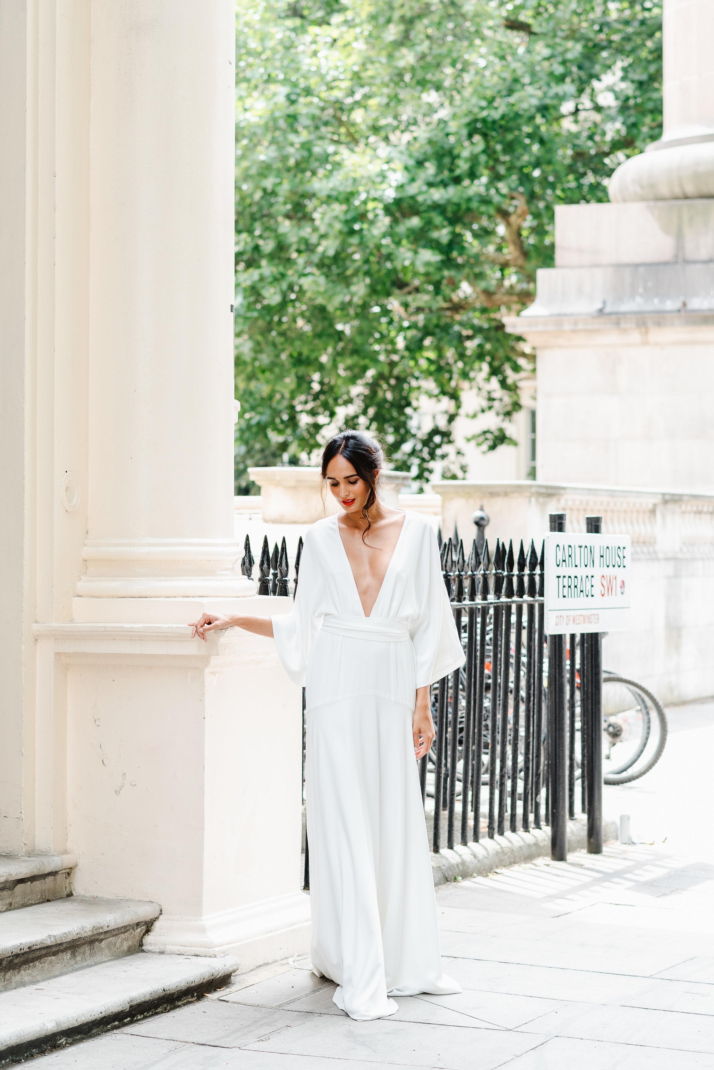 Revelry Events Carlton House London Bride Cool Wedding 00026.jpg
