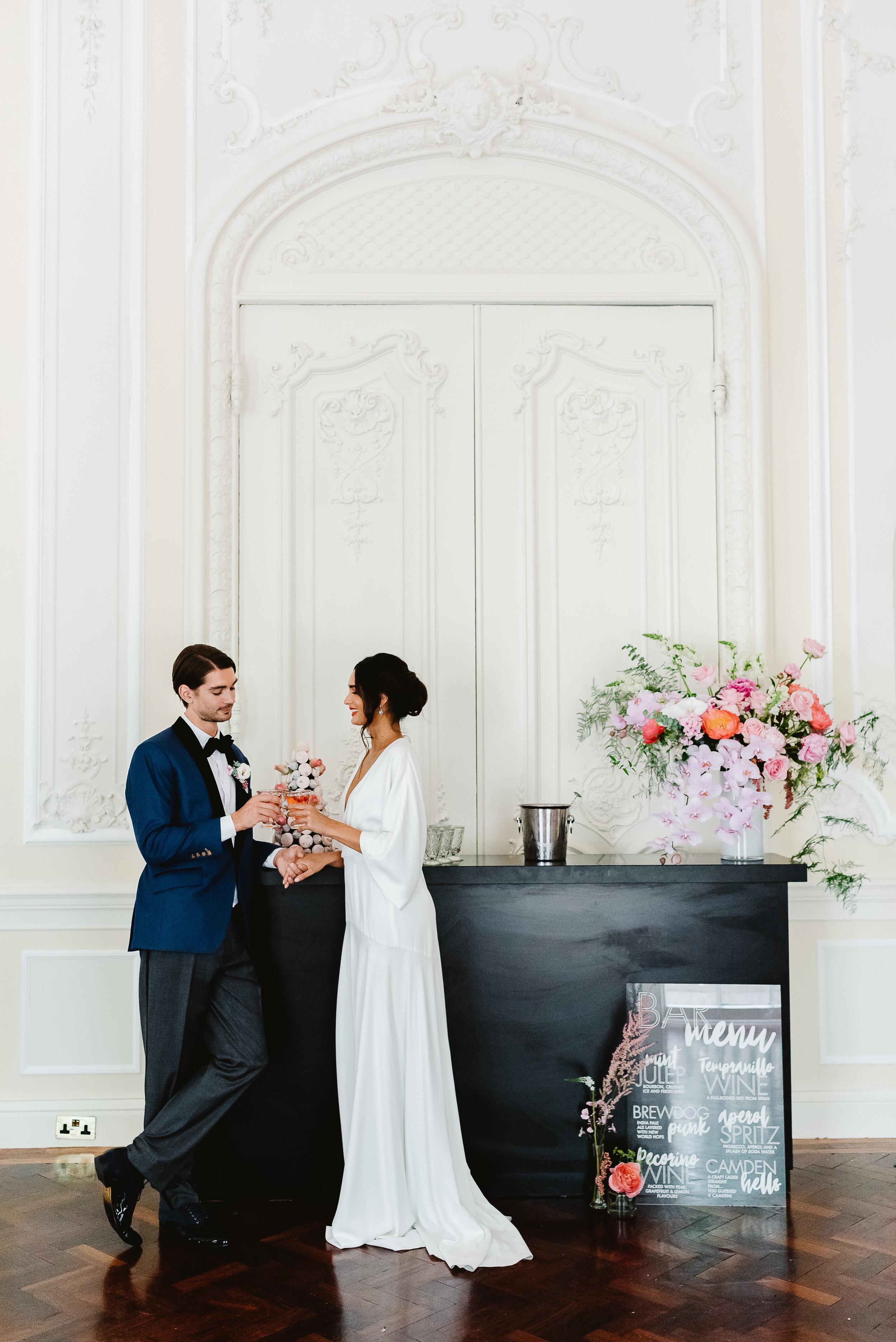 Revelry Events Carlton House London Bride Cool Wedding 00027.jpg