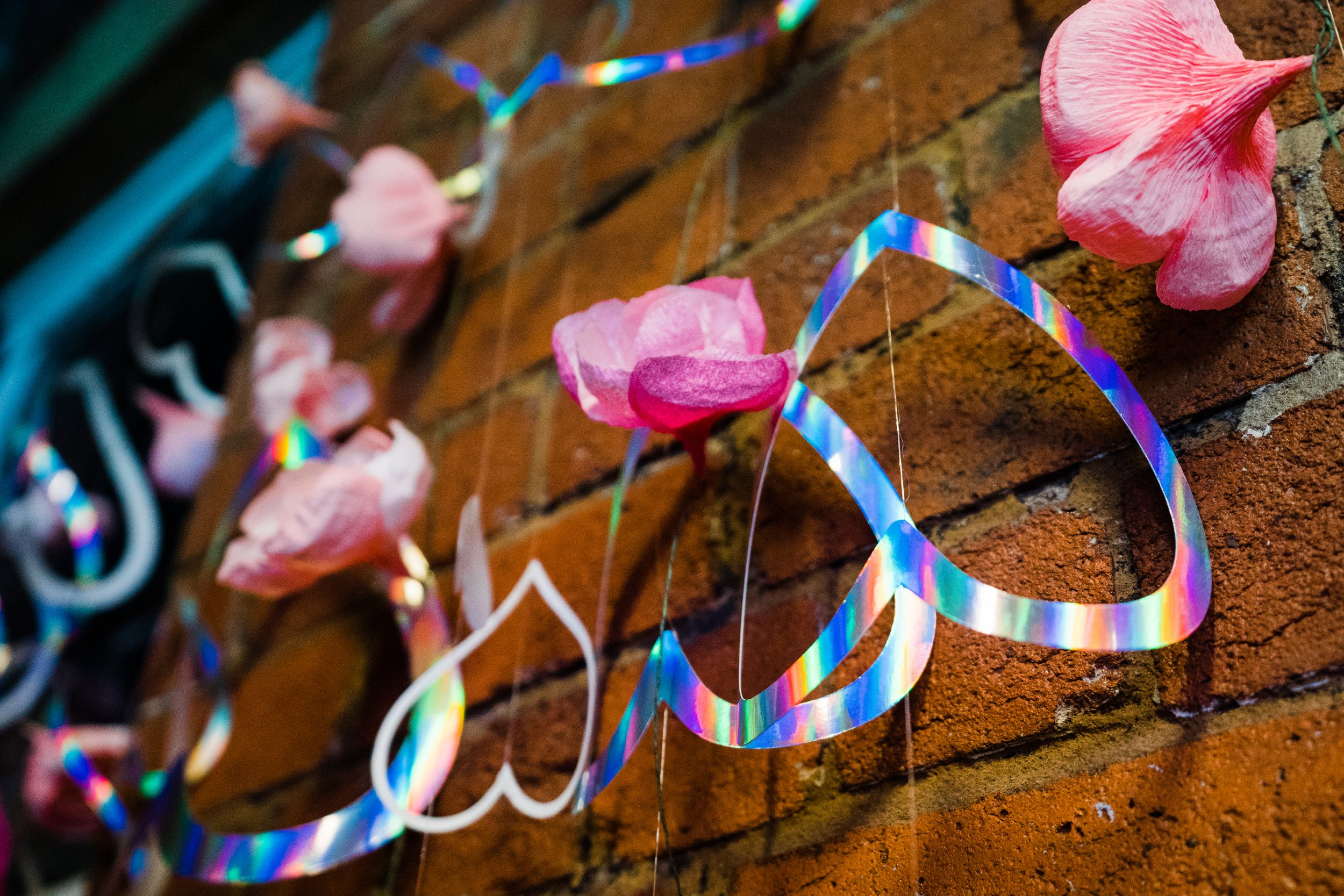 Rachel Emma Studio brings her famous holo decorations to the Leeds show