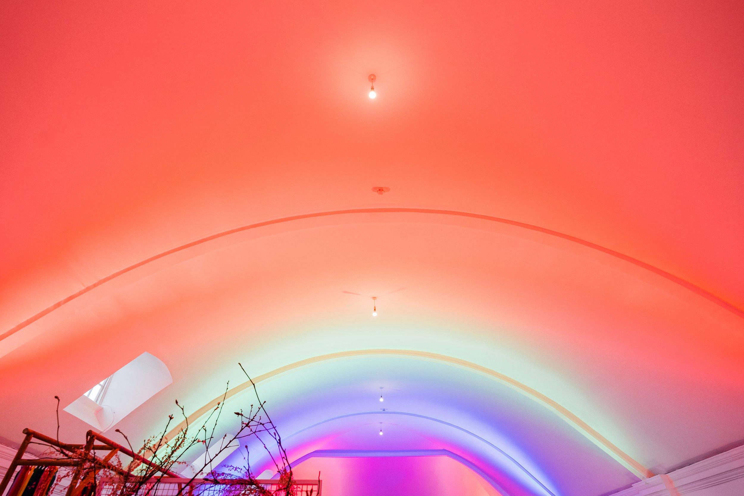 Rainbow Brite ceiling to break ya heart <3