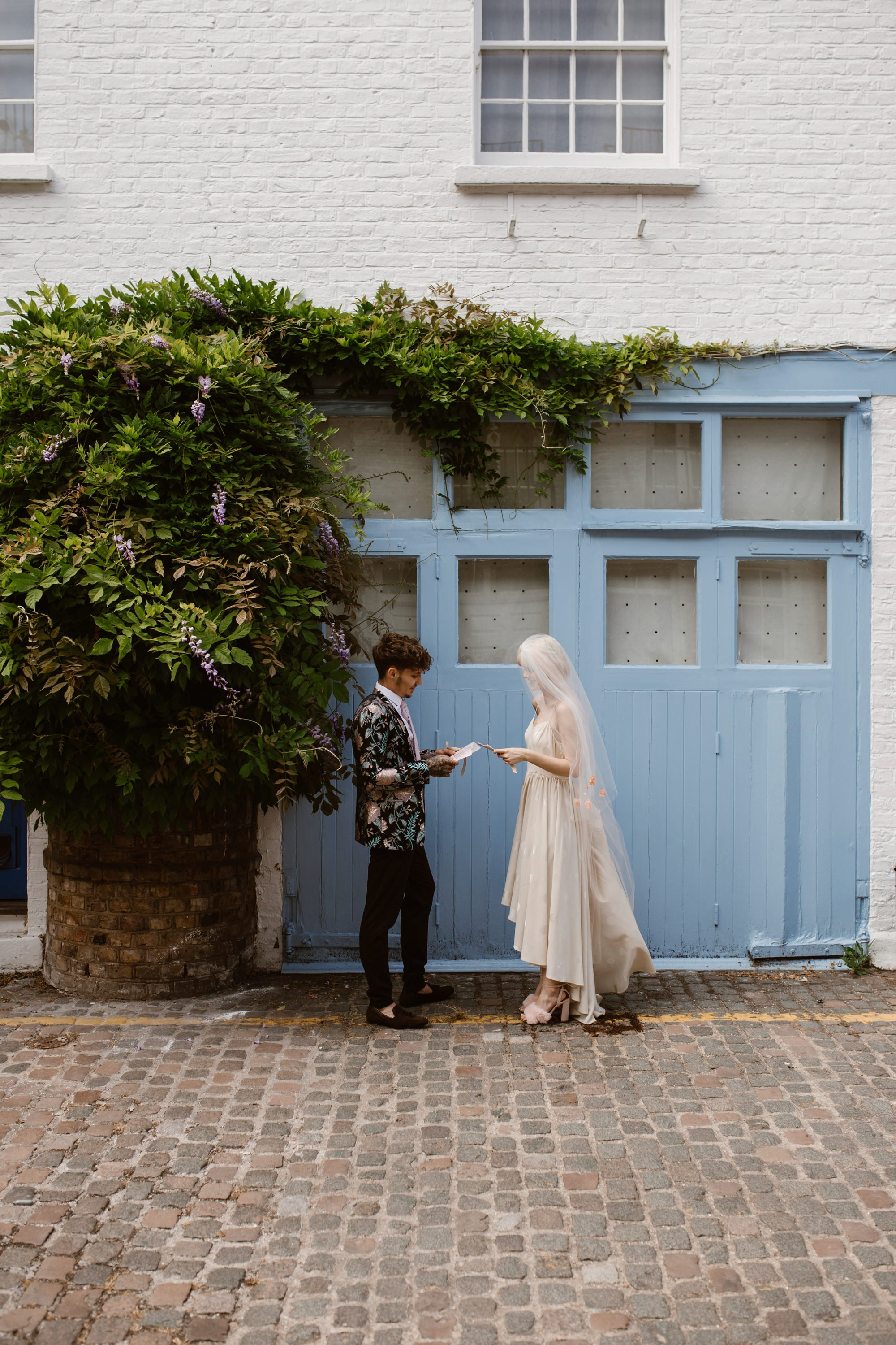 Modern Floral Notting Hill Elopement Agnes Black Cool Bride London 00040.jpg