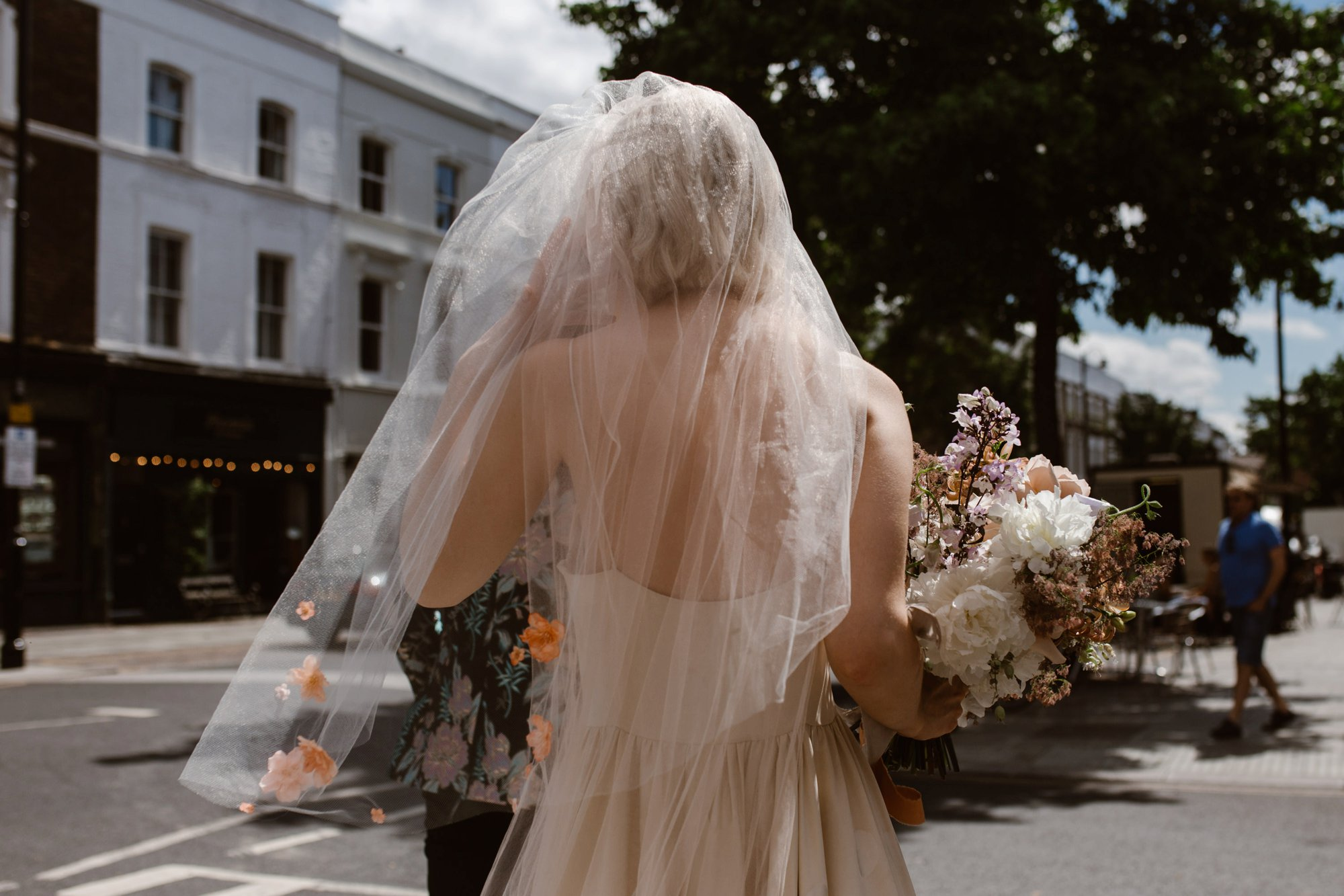 Modern Floral Notting Hill Elopement Agnes Black Cool Bride London 00014.jpg