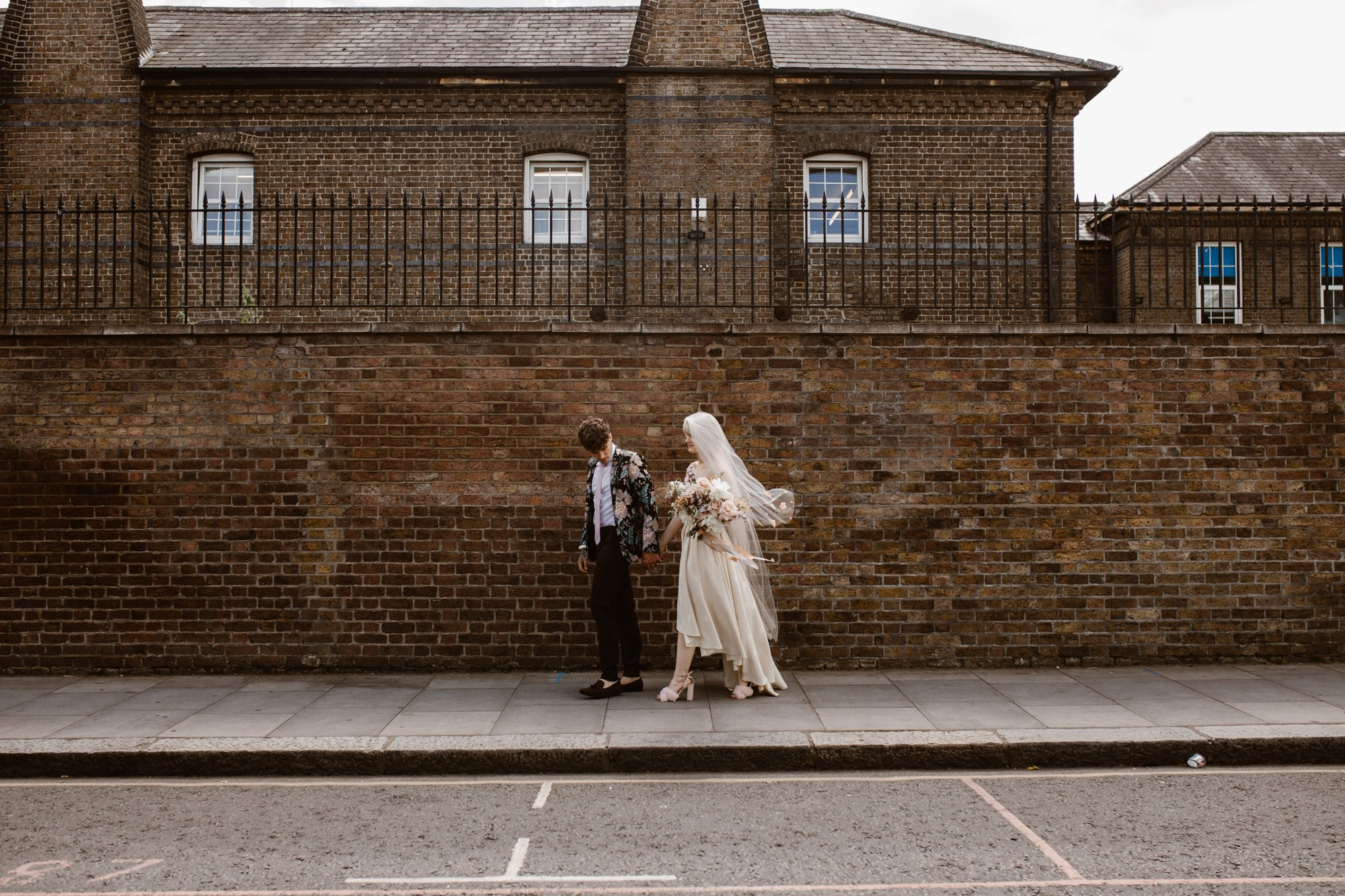 Modern Floral Notting Hill Elopement Agnes Black Cool Bride London 00026.jpg