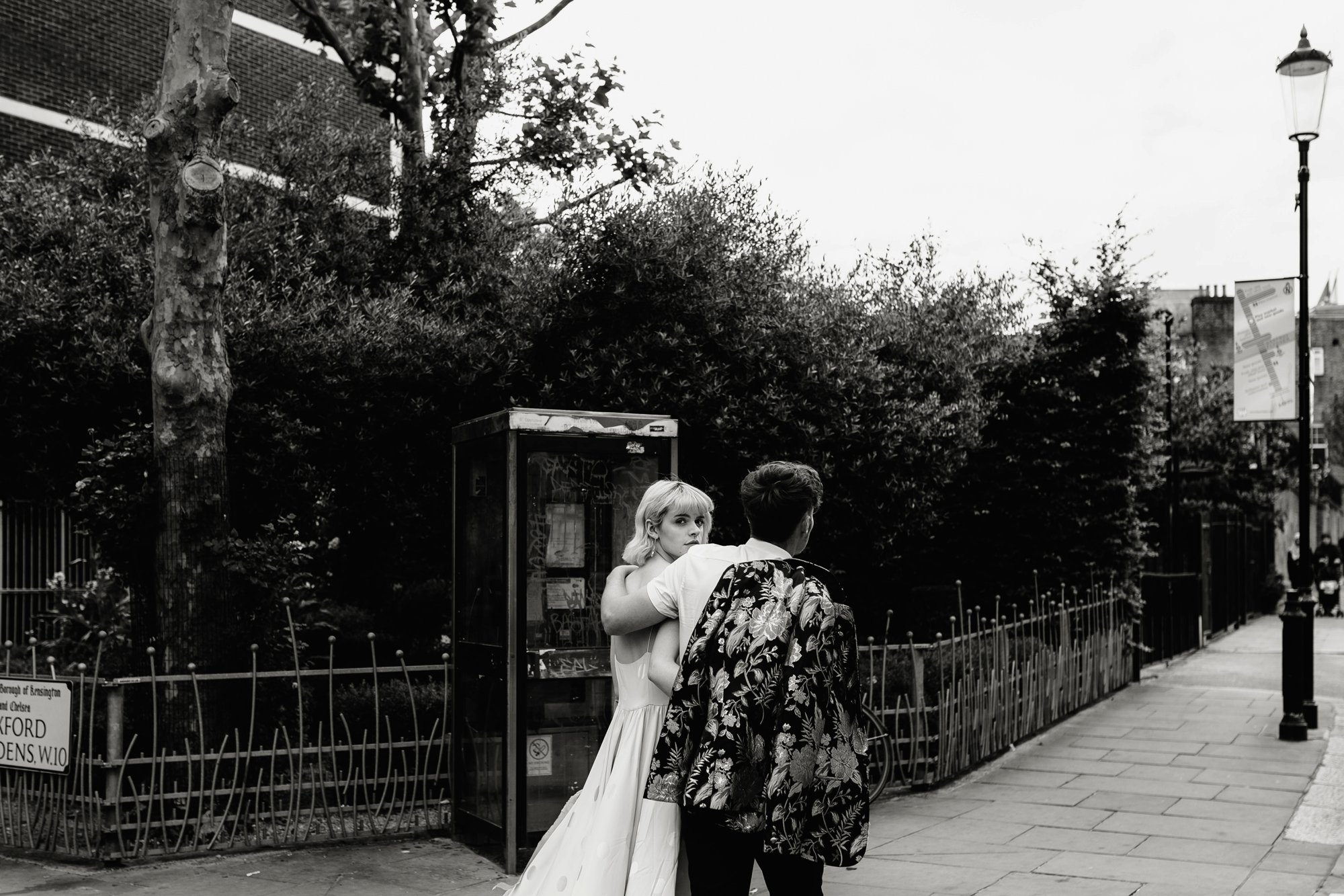 Modern Floral Notting Hill Elopement Agnes Black Cool Bride London 00053.jpg