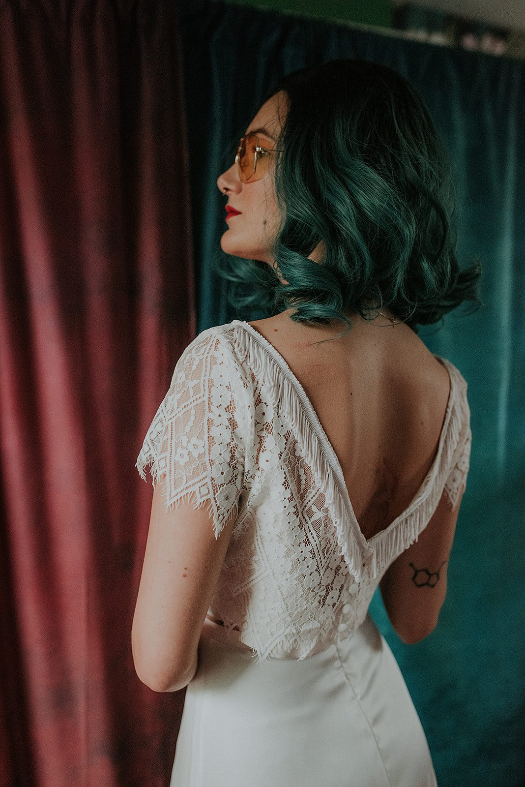 Lucy Cant Dance Cosmic Rodeo Alternative wedding dresses separates Megan Elle Photography 00003.jpg