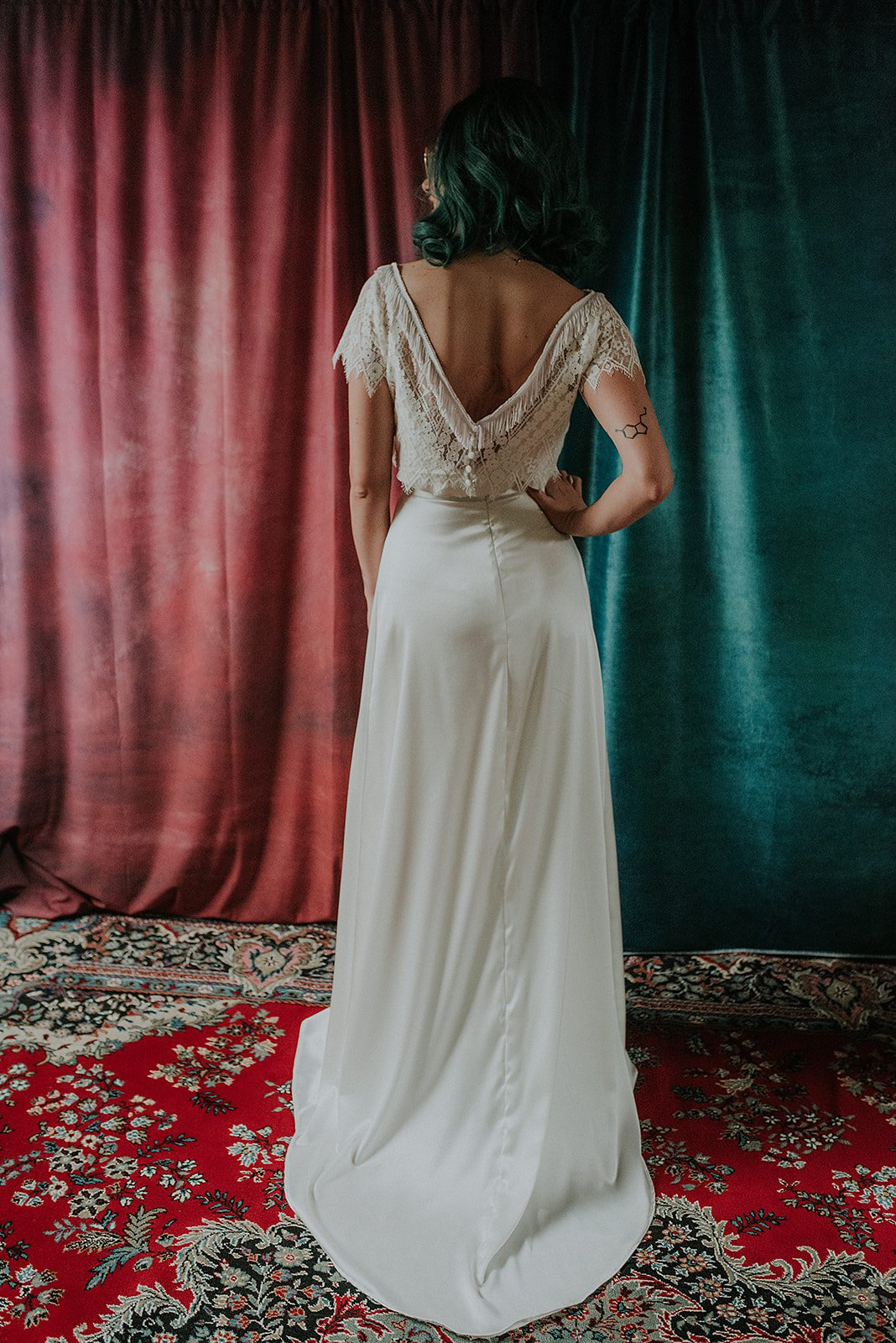 Lucy Cant Dance Cosmic Rodeo Alternative wedding dresses separates Megan Elle Photography 00004.jpg