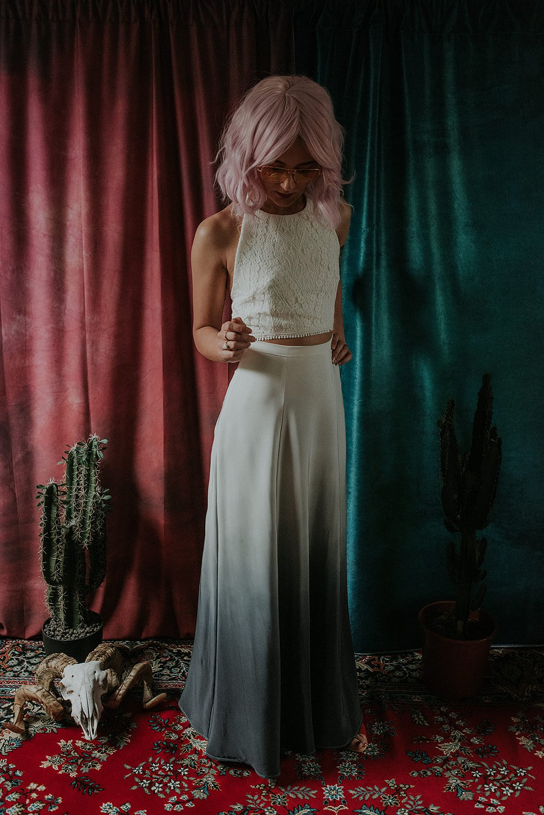 Lucy Cant Dance Cosmic Rodeo Alternative wedding dresses separates Megan Elle Photography 00007.jpg