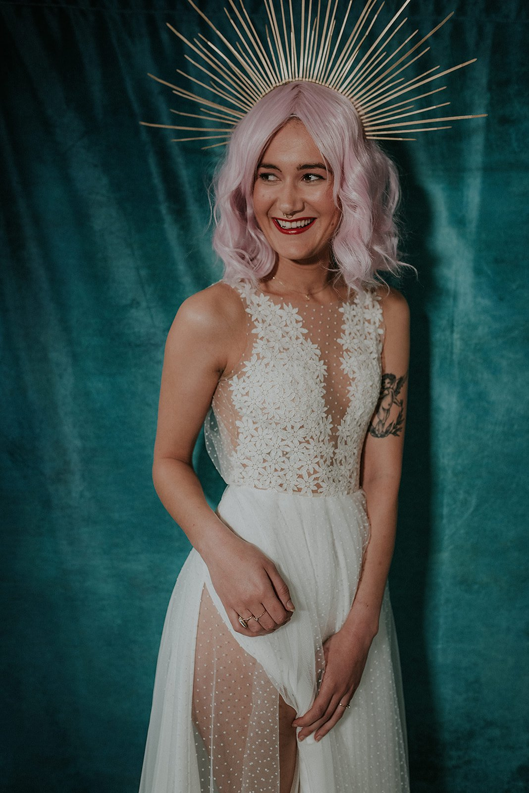 Lucy Cant Dance Cosmic Rodeo Alternative wedding dresses separates Megan Elle Photography 00014.jpg