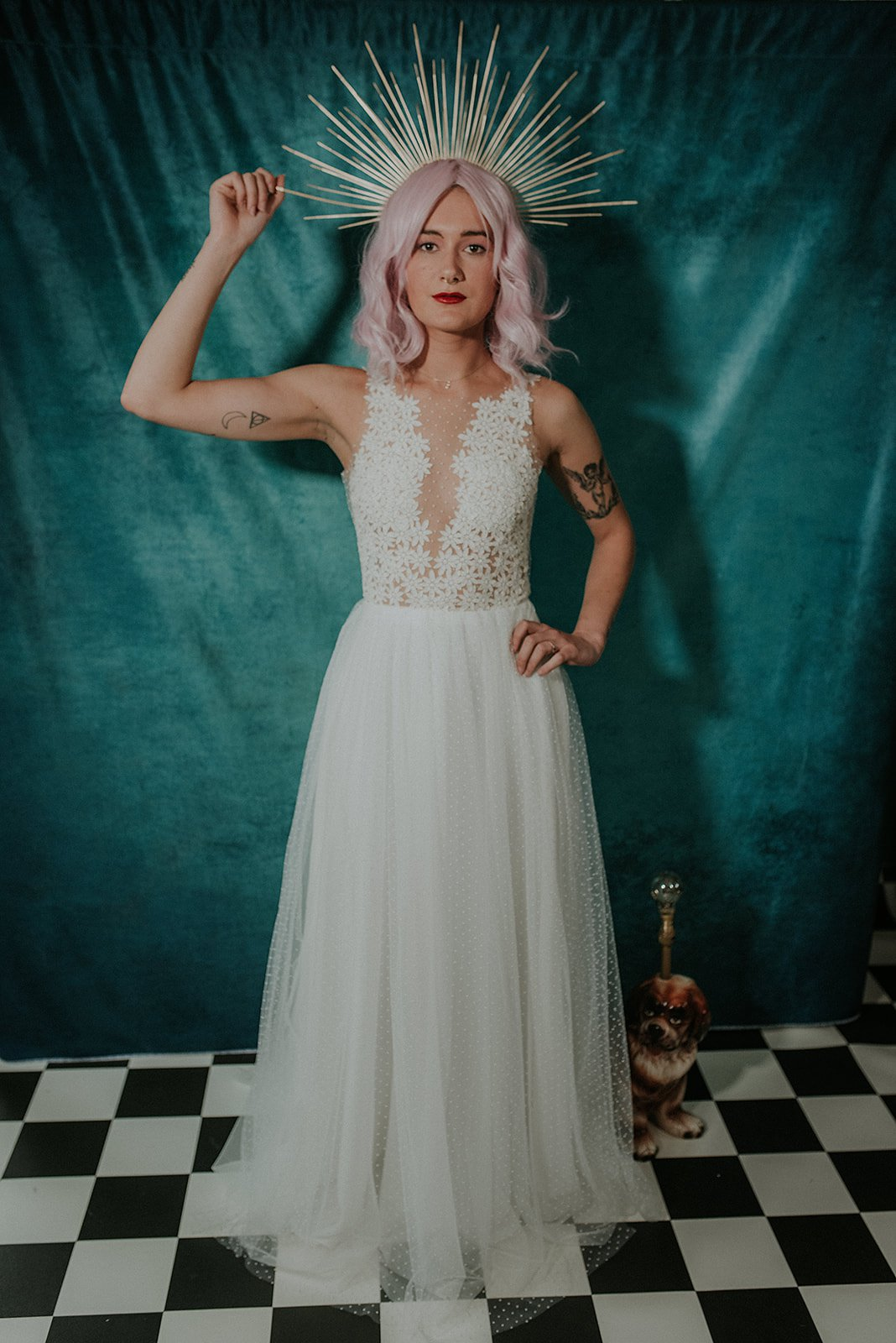 Lucy Cant Dance Cosmic Rodeo Alternative wedding dresses separates Megan Elle Photography 00015.jpg