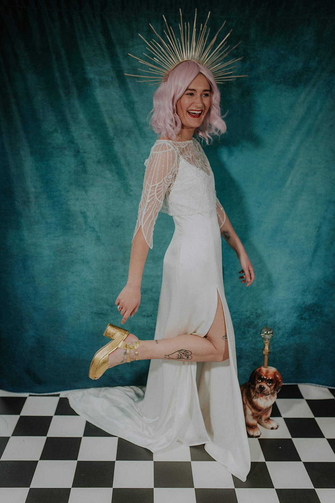 Lucy Cant Dance Cosmic Rodeo Alternative wedding dresses separates Megan Elle Photography 00018.jpg