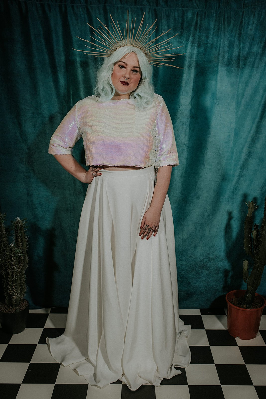 Lucy Cant Dance Cosmic Rodeo Alternative wedding dresses separates Megan Elle Photography 00035.jpg