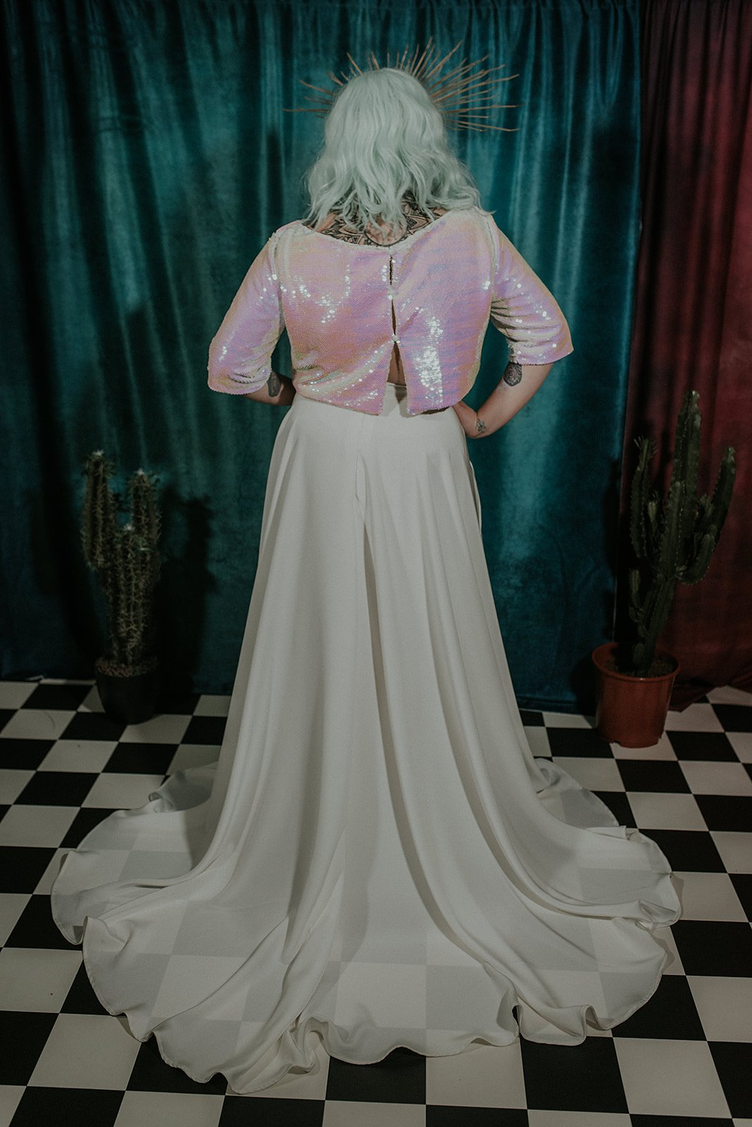 Lucy Cant Dance Cosmic Rodeo Alternative wedding dresses separates Megan Elle Photography 00036.jpg