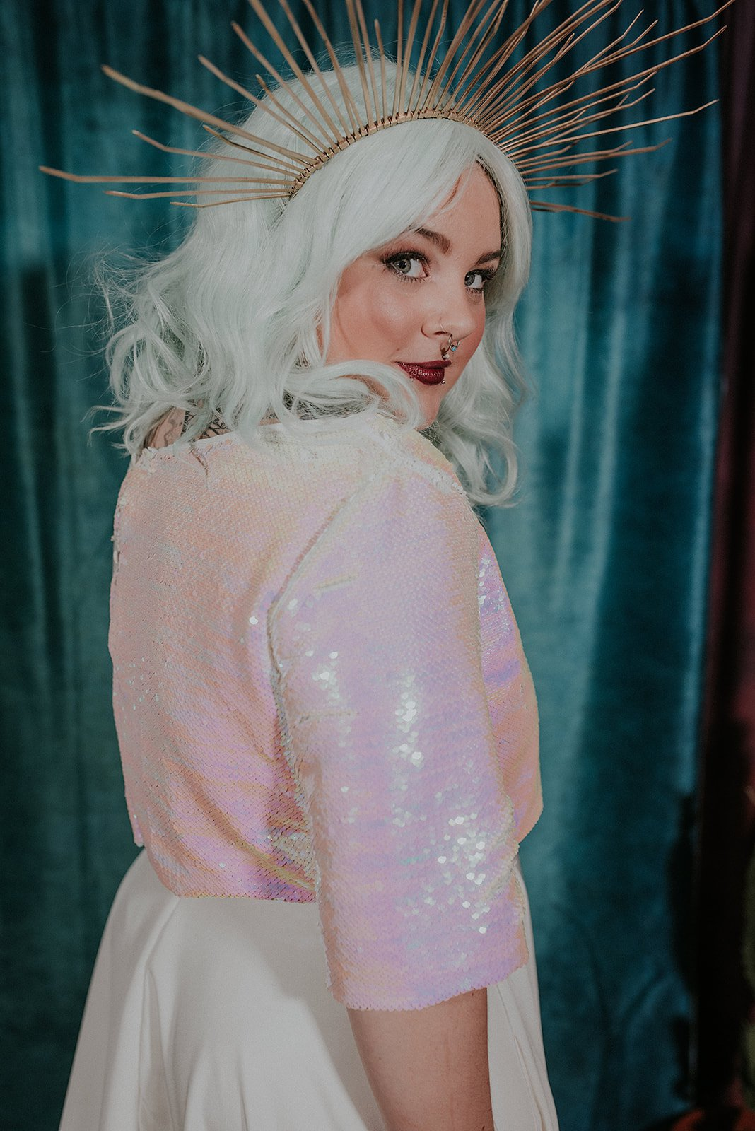 Lucy Cant Dance Cosmic Rodeo Alternative wedding dresses separates Megan Elle Photography 00037.jpg