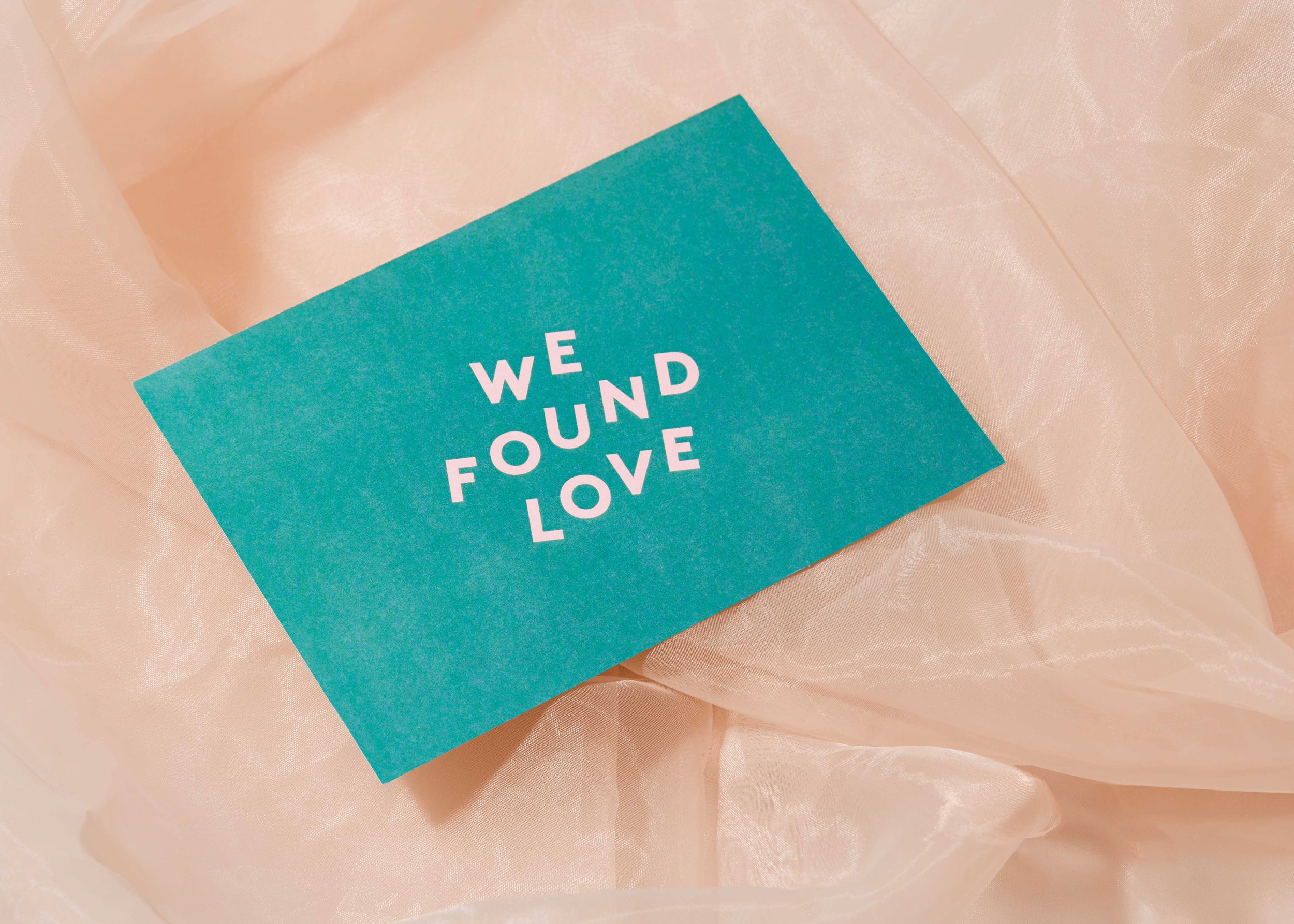 Aisle Studio Modern Wedding Stationery We Found Love.jpg