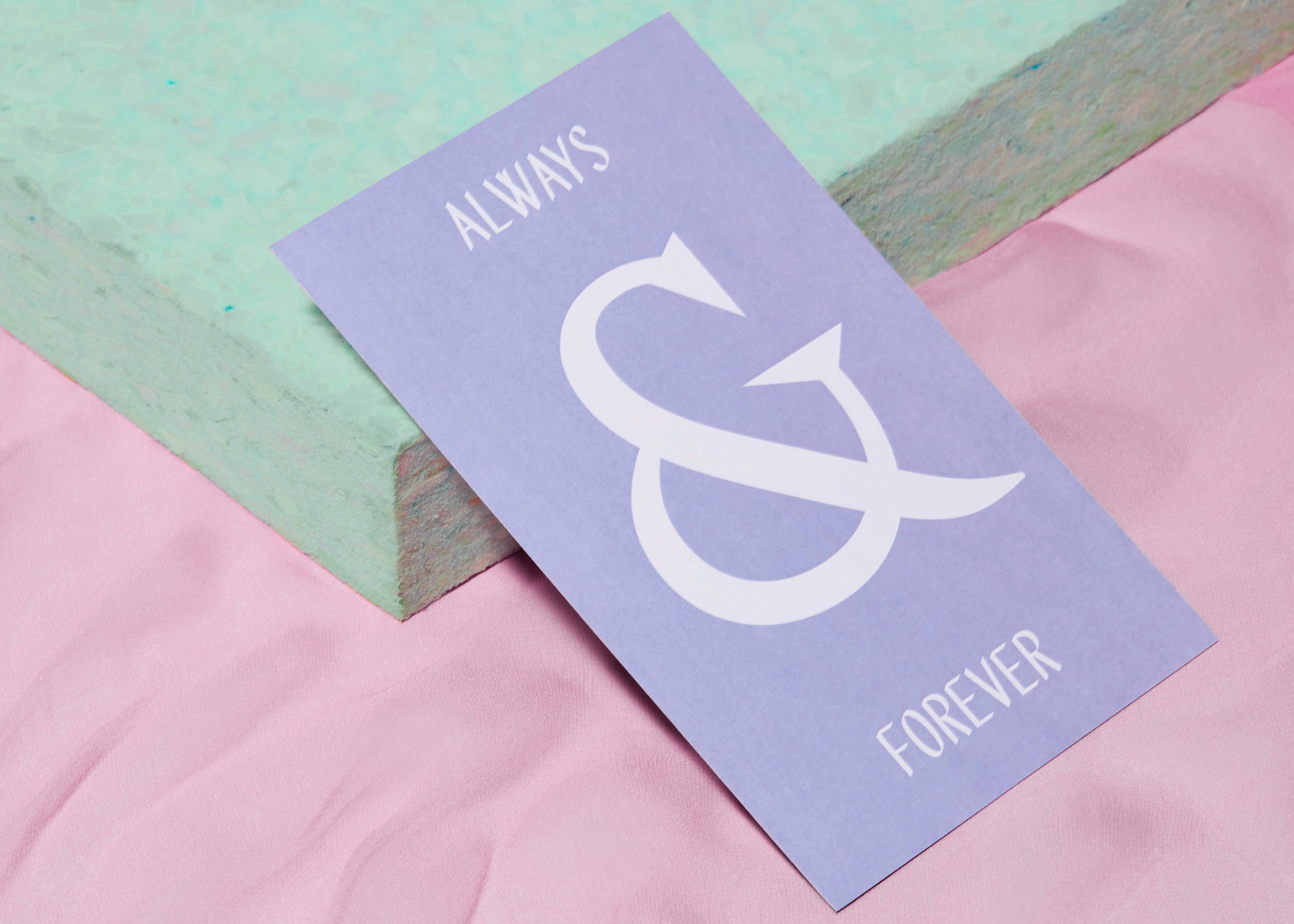 Aisle Studio Modern Wedding Stationery Always & Forever.jpg
