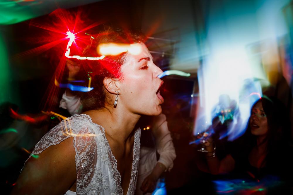 Manon on her wedding day | Photography by Facundo Santana