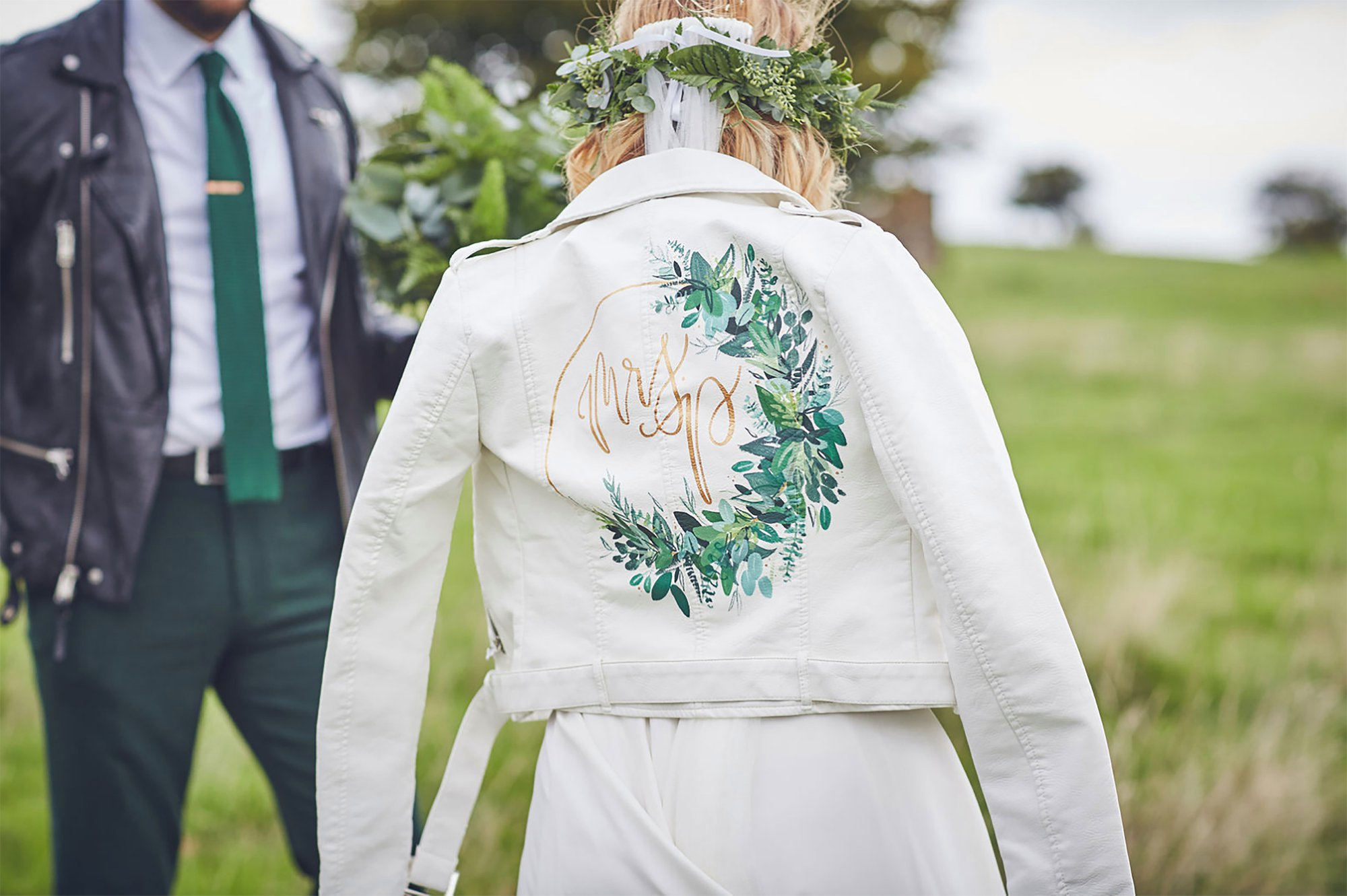 Bee Davies Illustration Floral and Geometric Handpainted wedding jackets calligraphy stationery cool bride modern weddings 00008.jpg