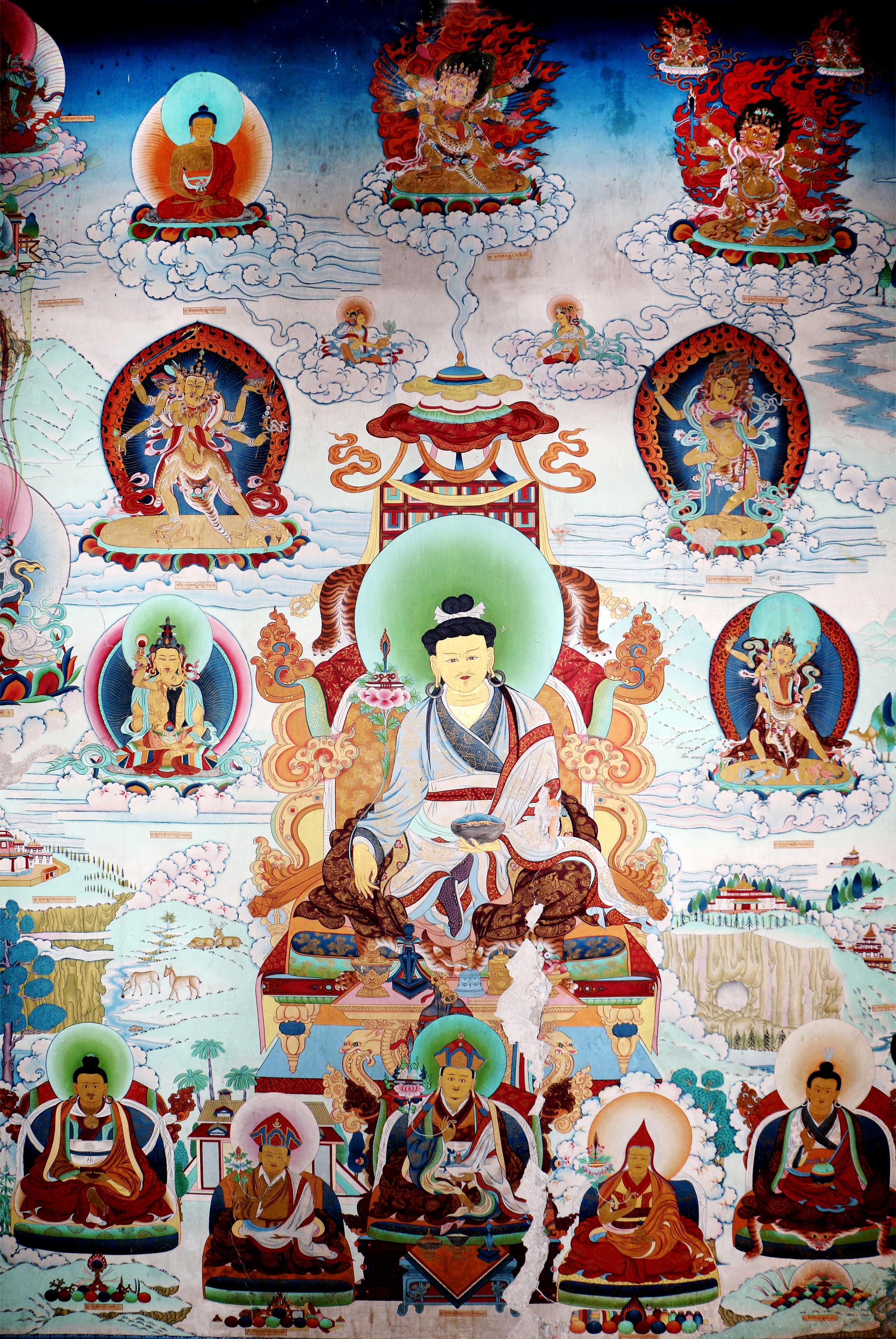 Wall depicting Terma Masters