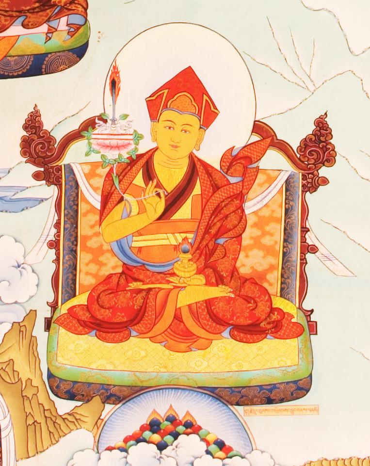 Jedrung Jampa Thinle Jungne (7th Riwoche Jedrung)