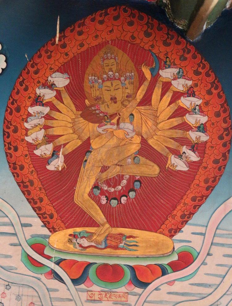 喜金剛 (Kye Dorje or Hevajra)