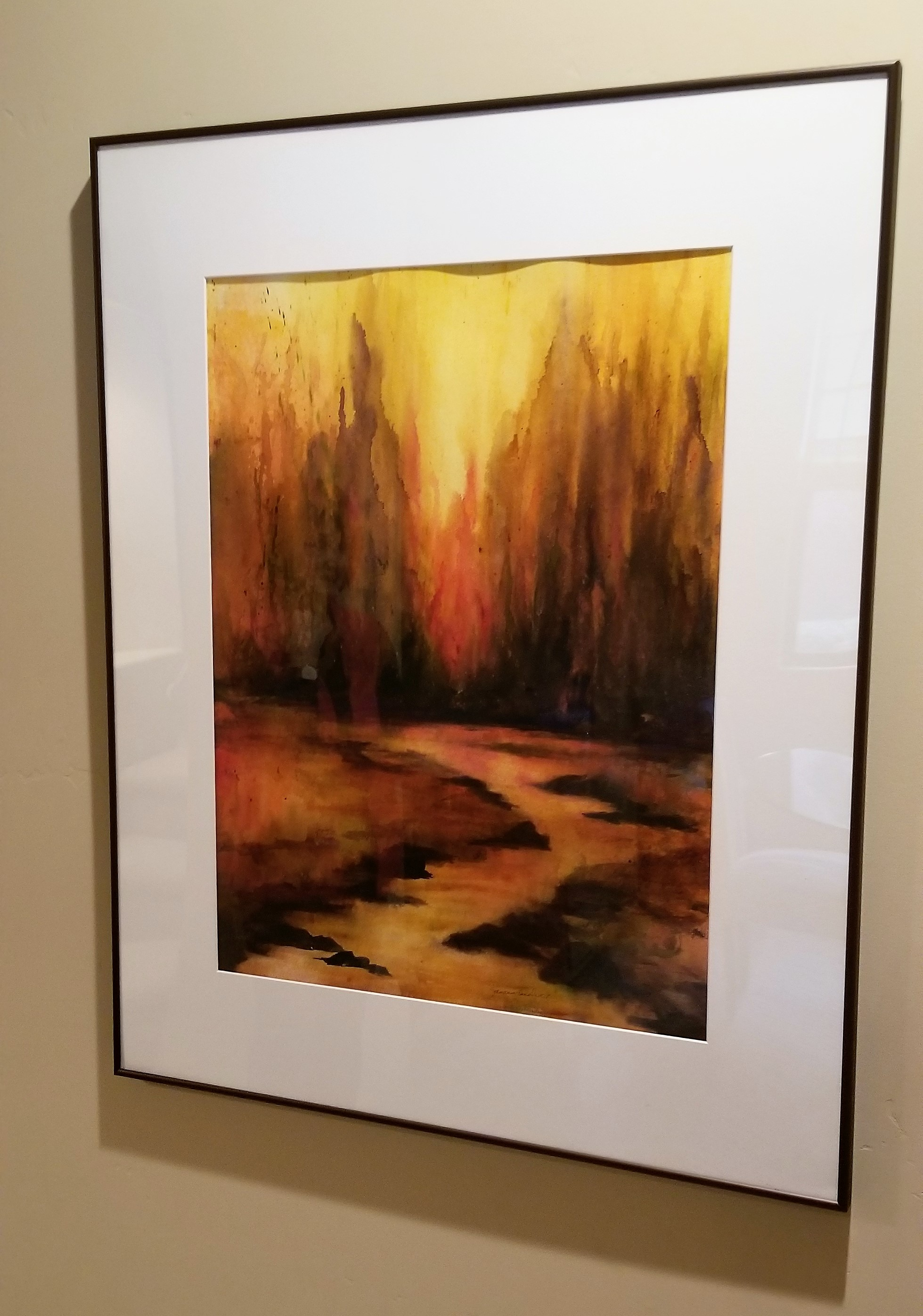 This painting was honored with an Award of Merit in the Western Federation of Watercolor Societies Exhibition in 2012.