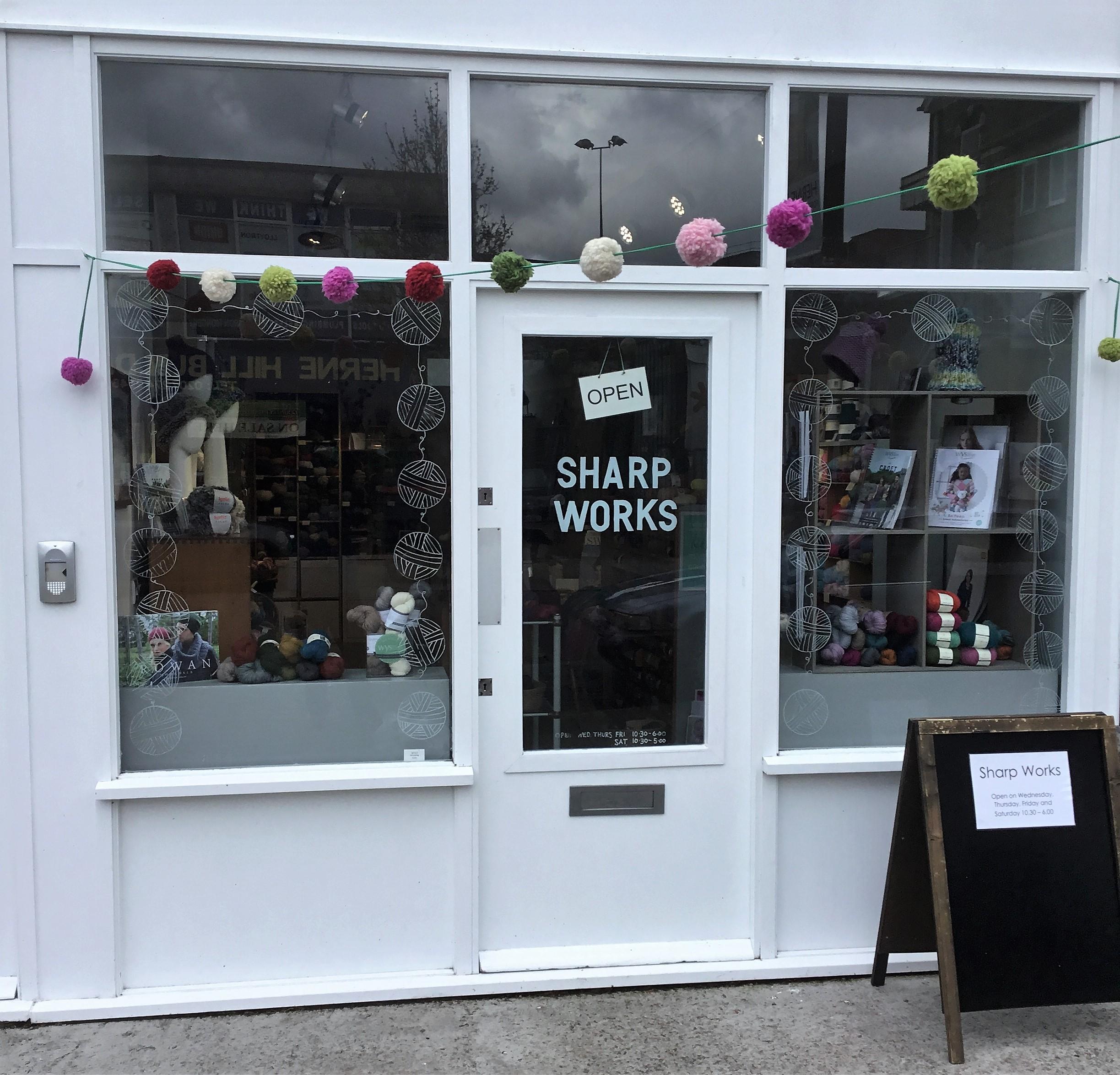 2. The wool shop window.JPG