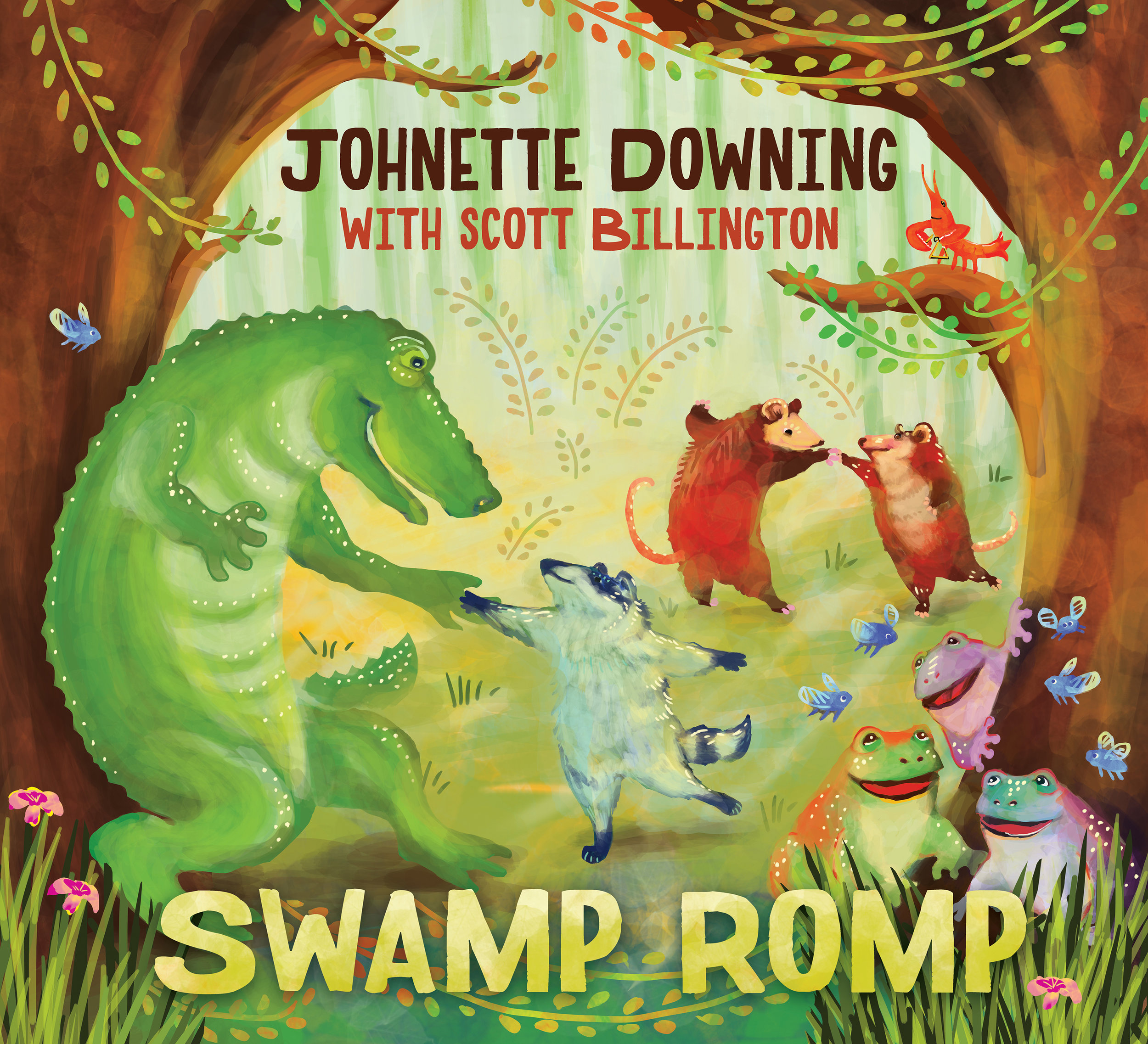 Swamp Romp | Johnette Downing with Scott Billington