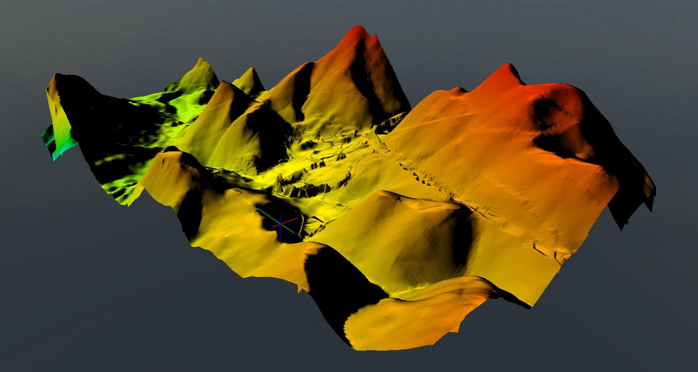 3D- Terrain Modeling