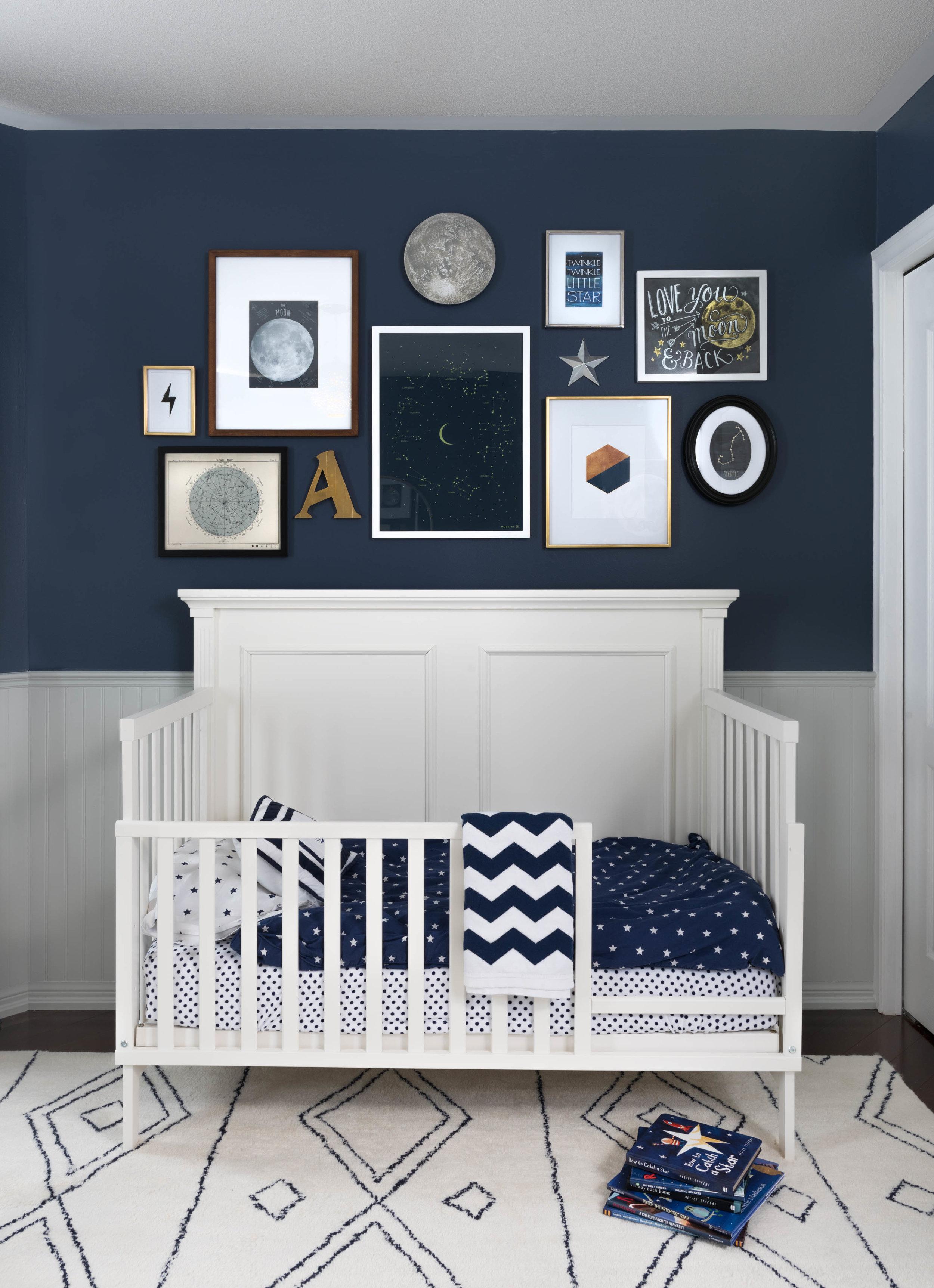 Navy Blue Nursery