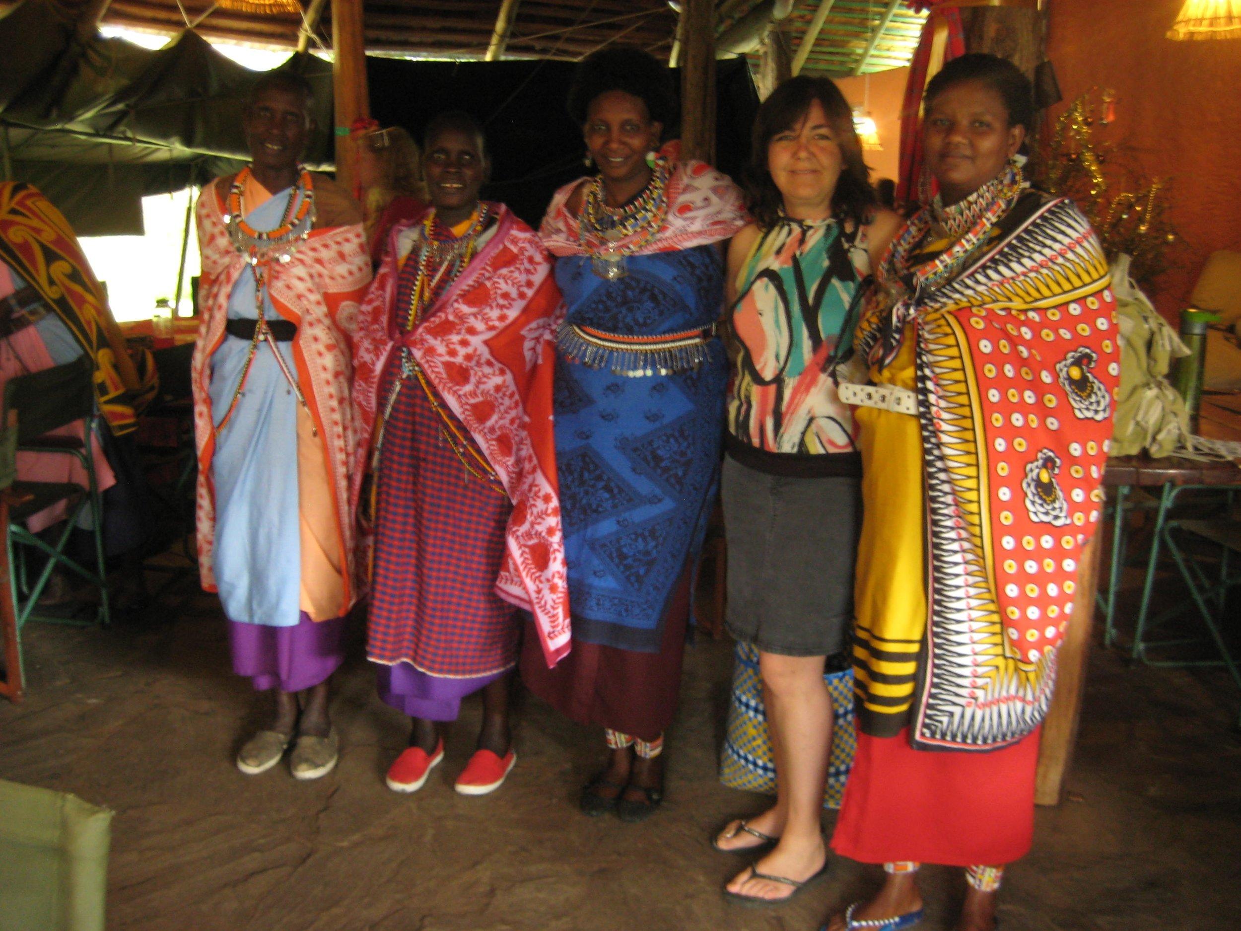 Mama and Maasai Mamas (1).JPG