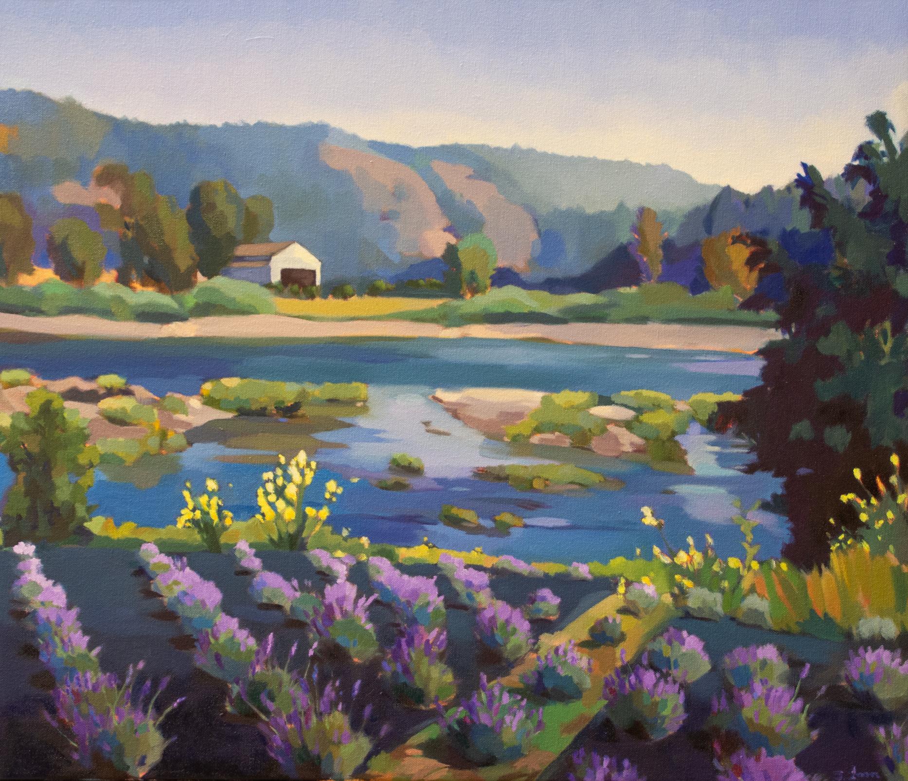 Lavender Overlooking the Umpqua