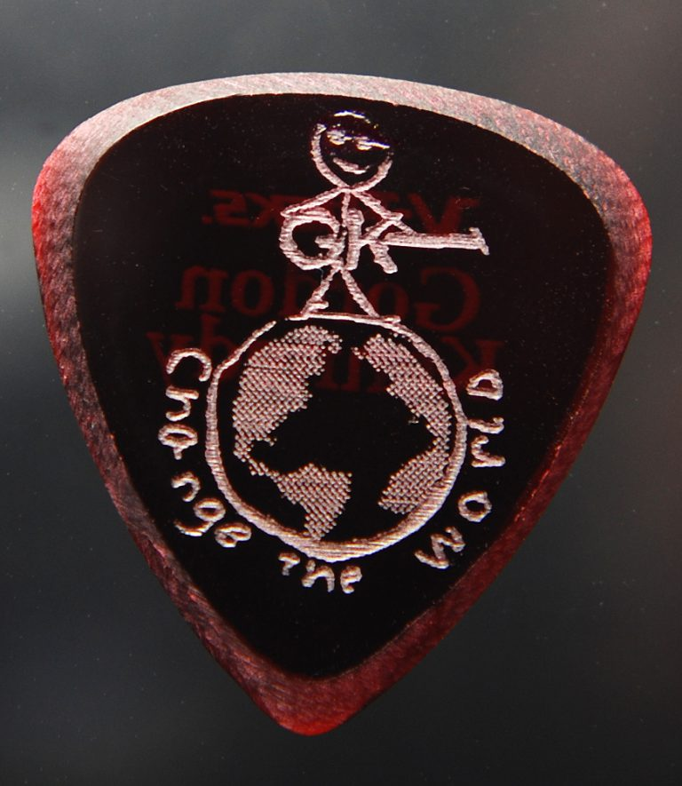 Gordon Kennedy Signature Model Guitar Pick -