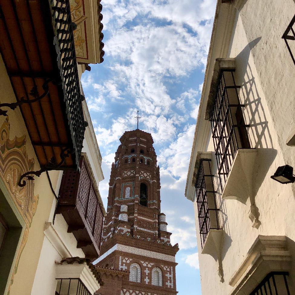 Poble Espanyol, Montjuïc, Barcelona, Spain