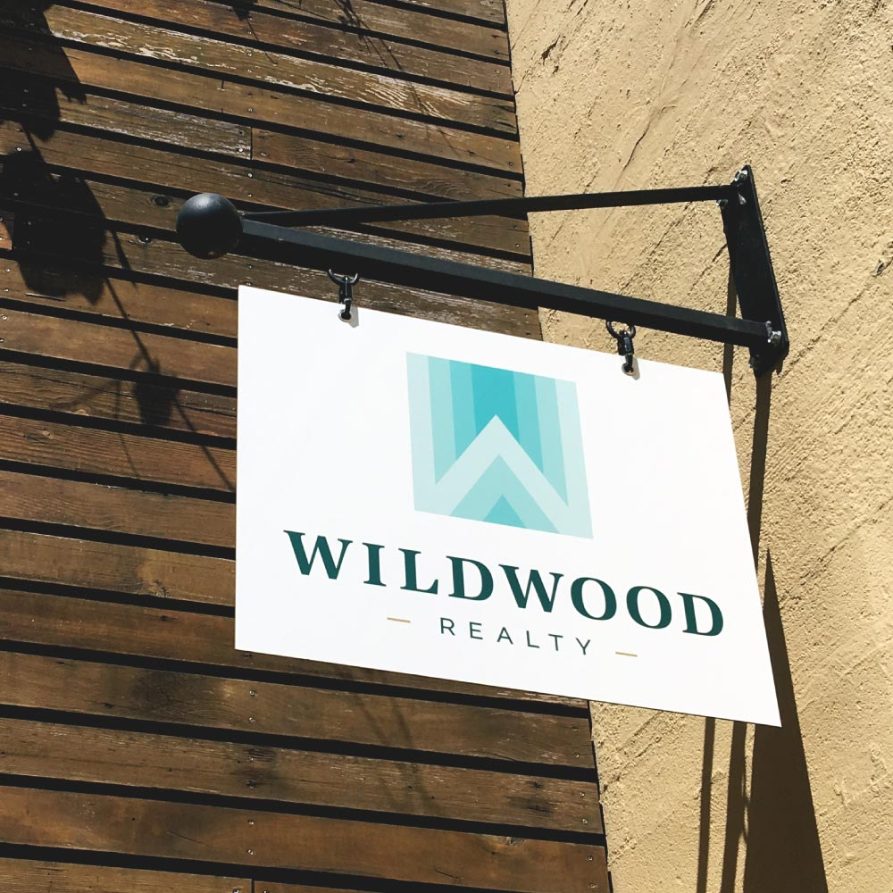 Wildwood Realty Office Entry Sign
