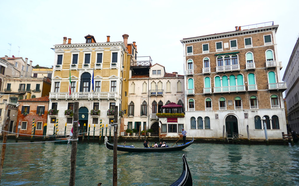 The Grand Canal at the Rialto Bridge