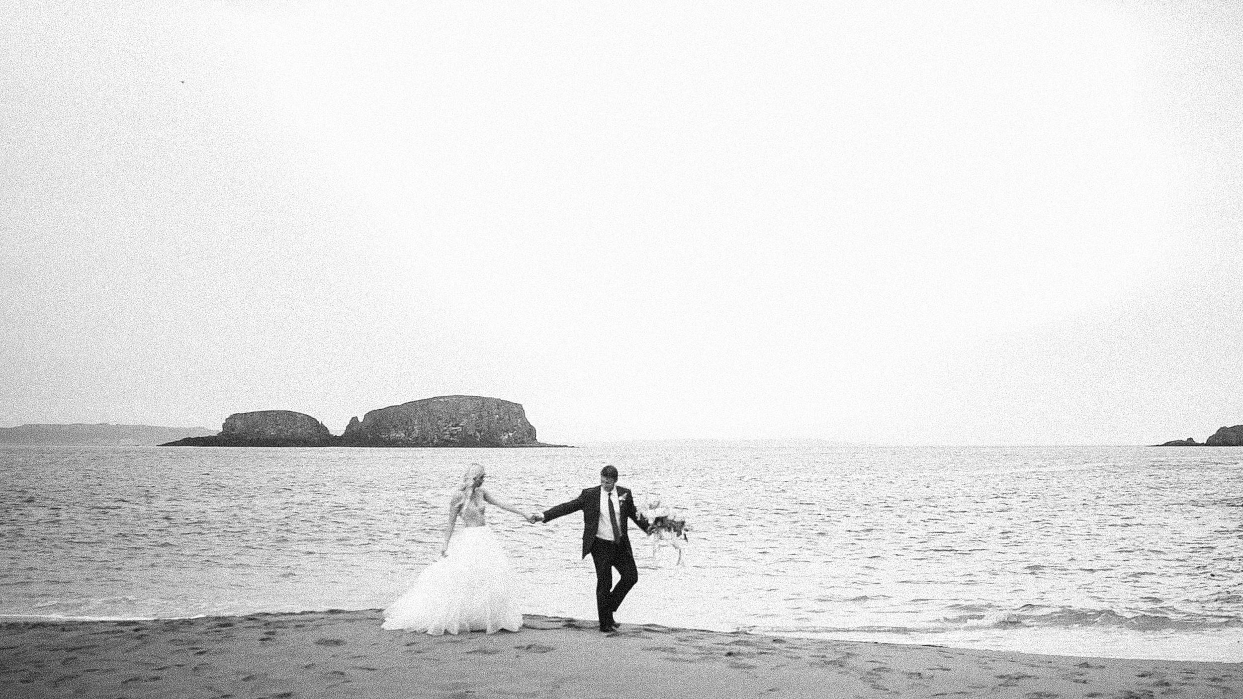 Ballintoy Harbour Elopement