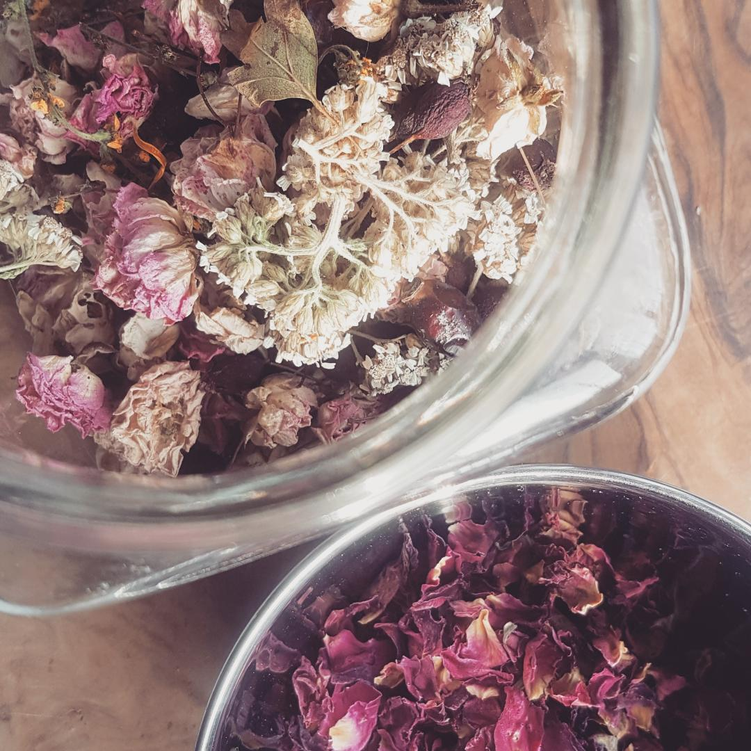 herbal care - i have been drawn to the natural powers of herbs and flowers as a form of self care, and am delighted to offer a range of bespoke, small batch products which i really believe in. carefully blended, natural remedies to nourish our female bodies during times when they may need it the most, products include;herbal bath teas, enriched with healing properties to strengthen your recovery after birth or menstruation.yoni herbal sprays, soothe and aid healing post-partum. the daily blend can help refresh and cleanse as you need it.yoni steam blends, to use at home, rebalance and reconnect with this wonderful, simple ritual, nourish your body after menstruation or when you're feeling low in energy.please take a look at the herbal care page for more information and a link to my etsy shop.