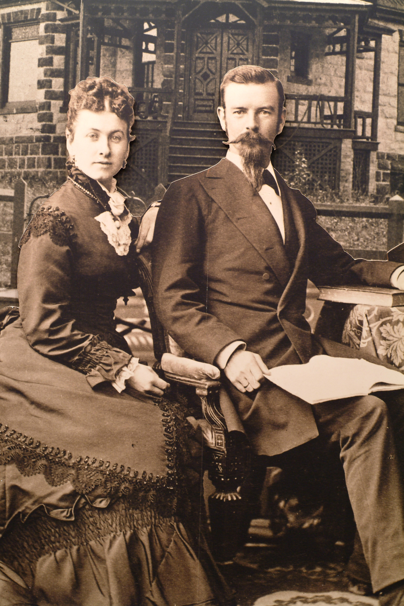 Dr. Valentine T. McGillycuddy and his first beloved wife, Fanny