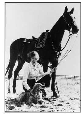 Velma B. Johnston aka Wild Horse Annie