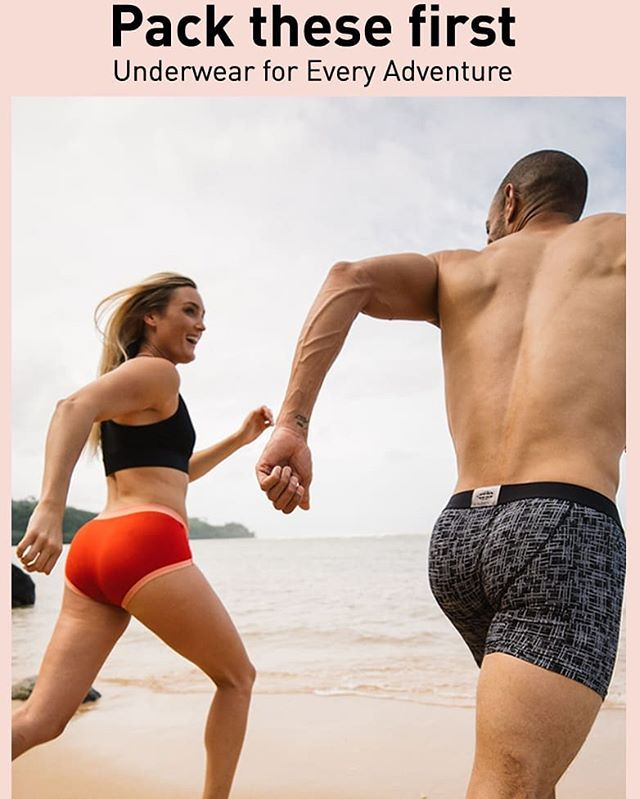 Check out our stock of fabulous travel underwear! Quick-dry & comfy! #comfort  #travelunderwear  #travelislove❤