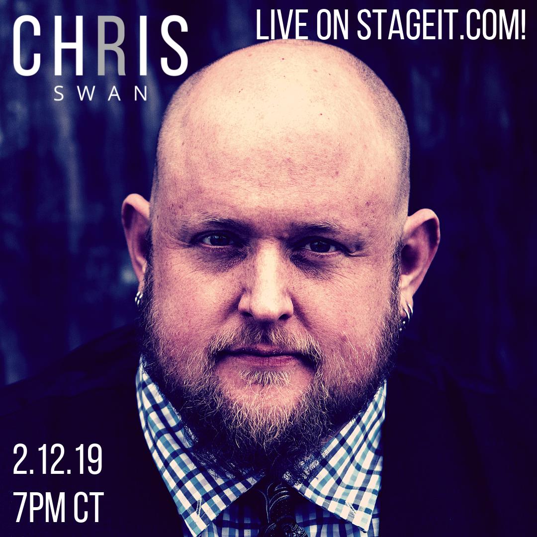 Chris Swan Live on Stageit.com