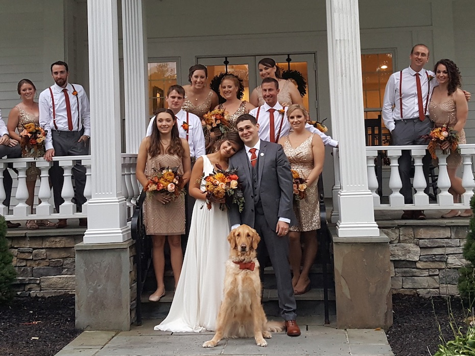 Standard Wedding & Wags Package - $250 | Up to 3 hours of service• Pup meet and greet prior to your big day• Pick-up at your chosen location • Transportation to and from your venue • Doggy walk prior to event start time• Pup dressed in your pre-selected attire or accessories• Assistance during photos• On-site handler at your venue as needed• Potty breaks, feeding, water as needed• Unlimited belly rubs, head scratches and nose-boops